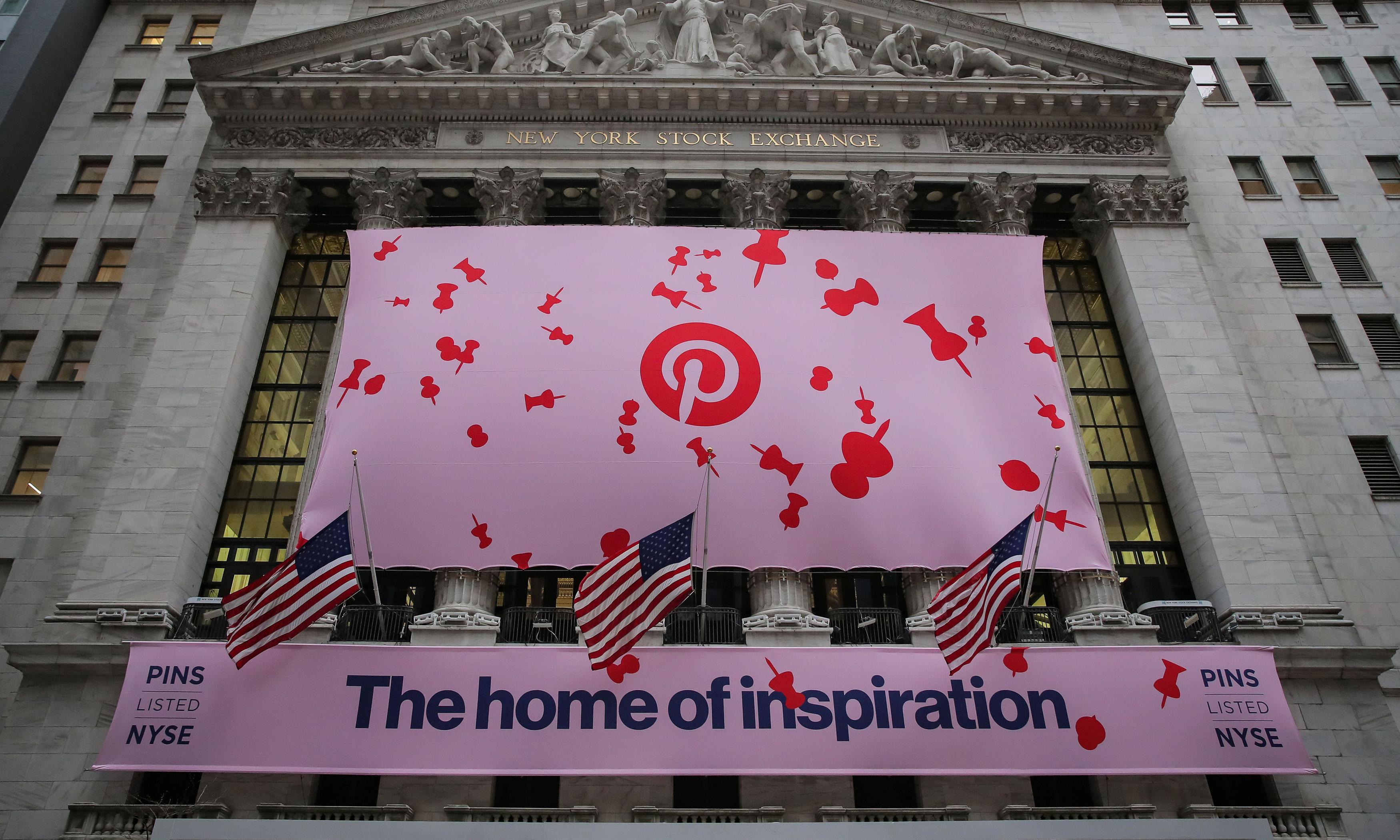 Pinterest shares soar after tech unicorn sees 'blowout quarter'