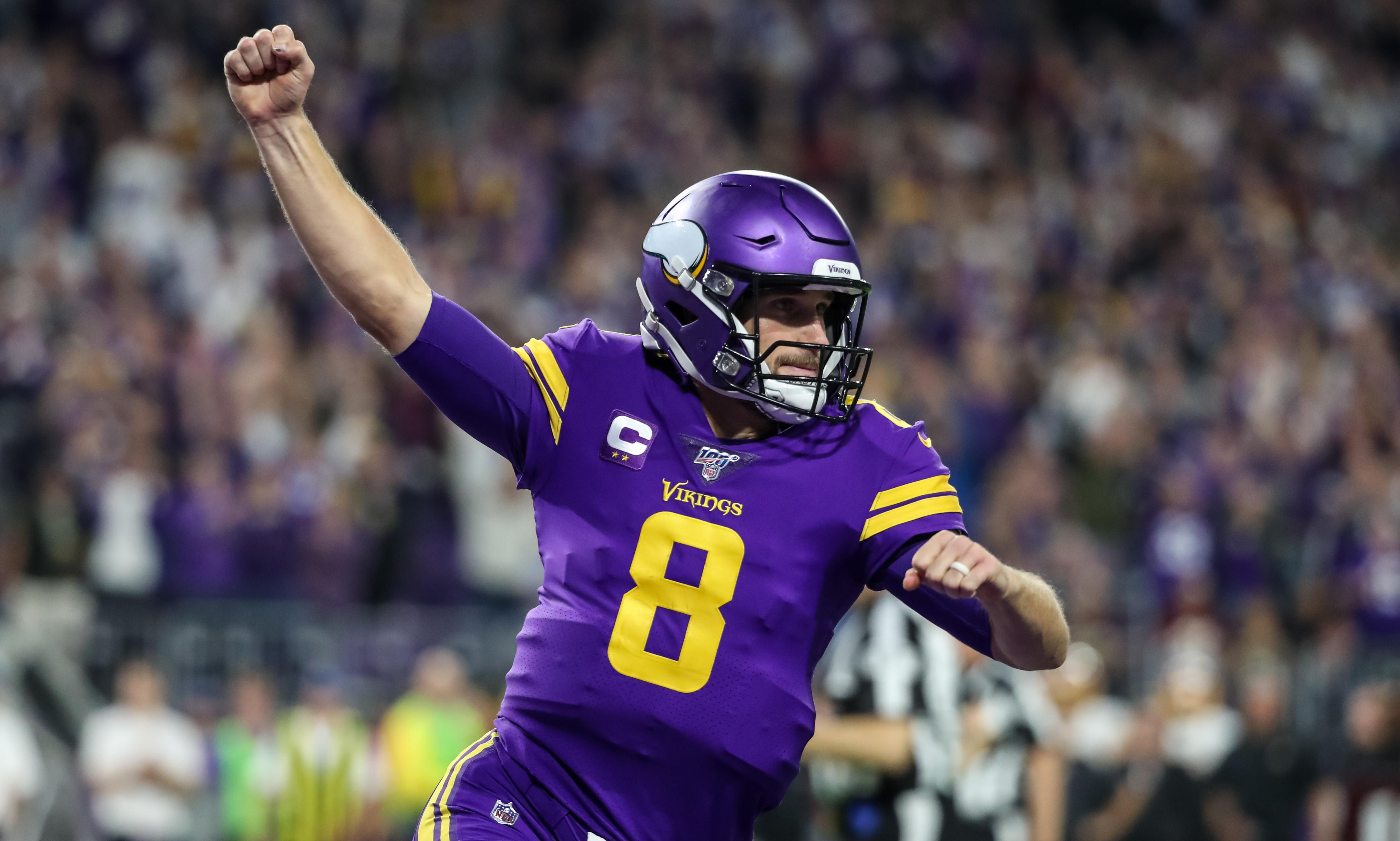 Streaking Minnesota Vikings wear down Washington for fourth straight win