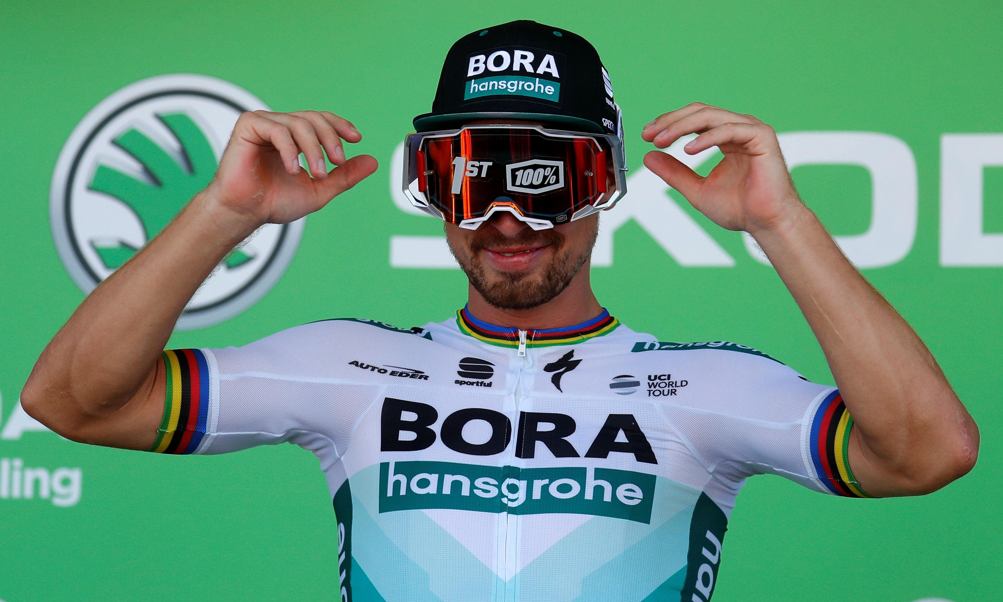Tour de France: Sagan takes 'exquisite' stage win as Alaphilippe stays in yellow