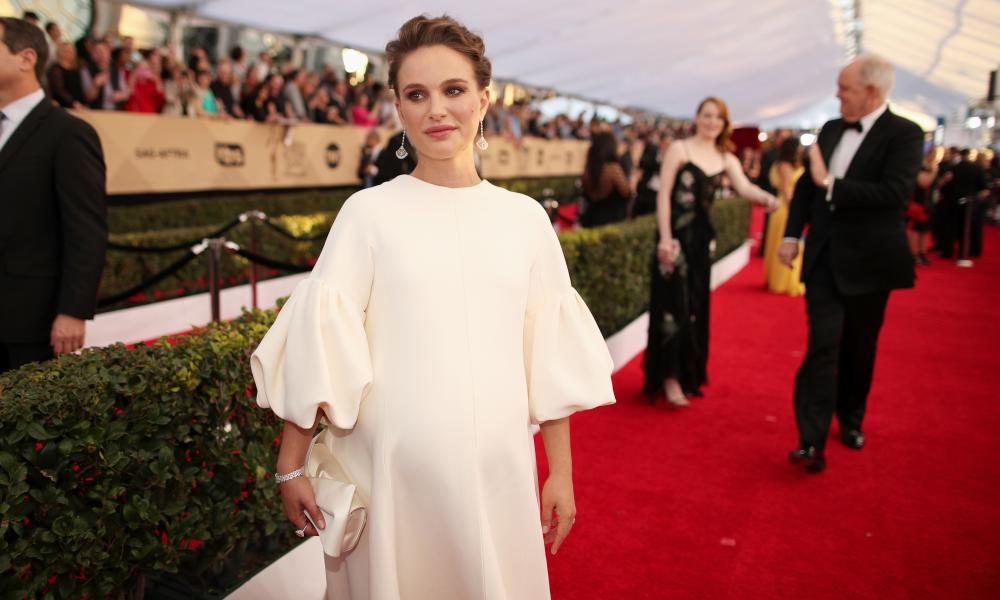 Sleeves, still having a moment … as seen here on Natalie Portman in 2017.