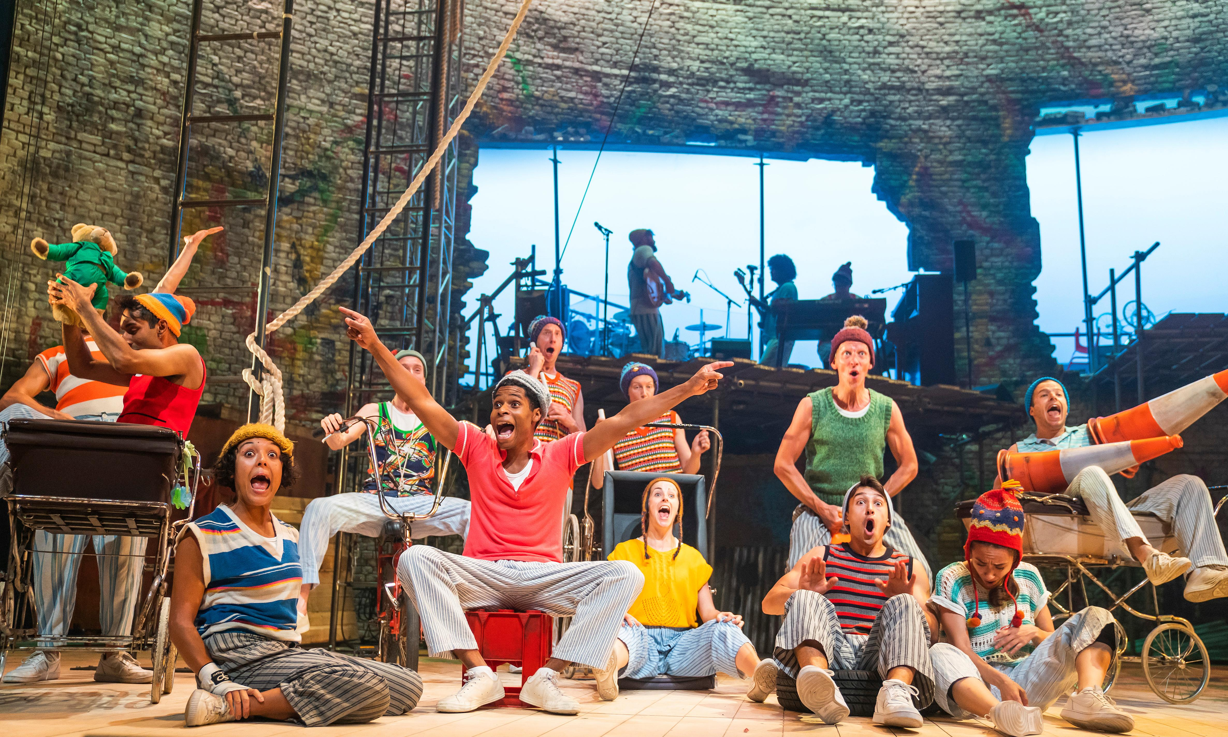 Peter Pan review – dark mischief and a wicked Tinkerbell steal the show