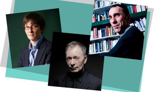 A.L. Kennedy, Tony Parsons, Will Self