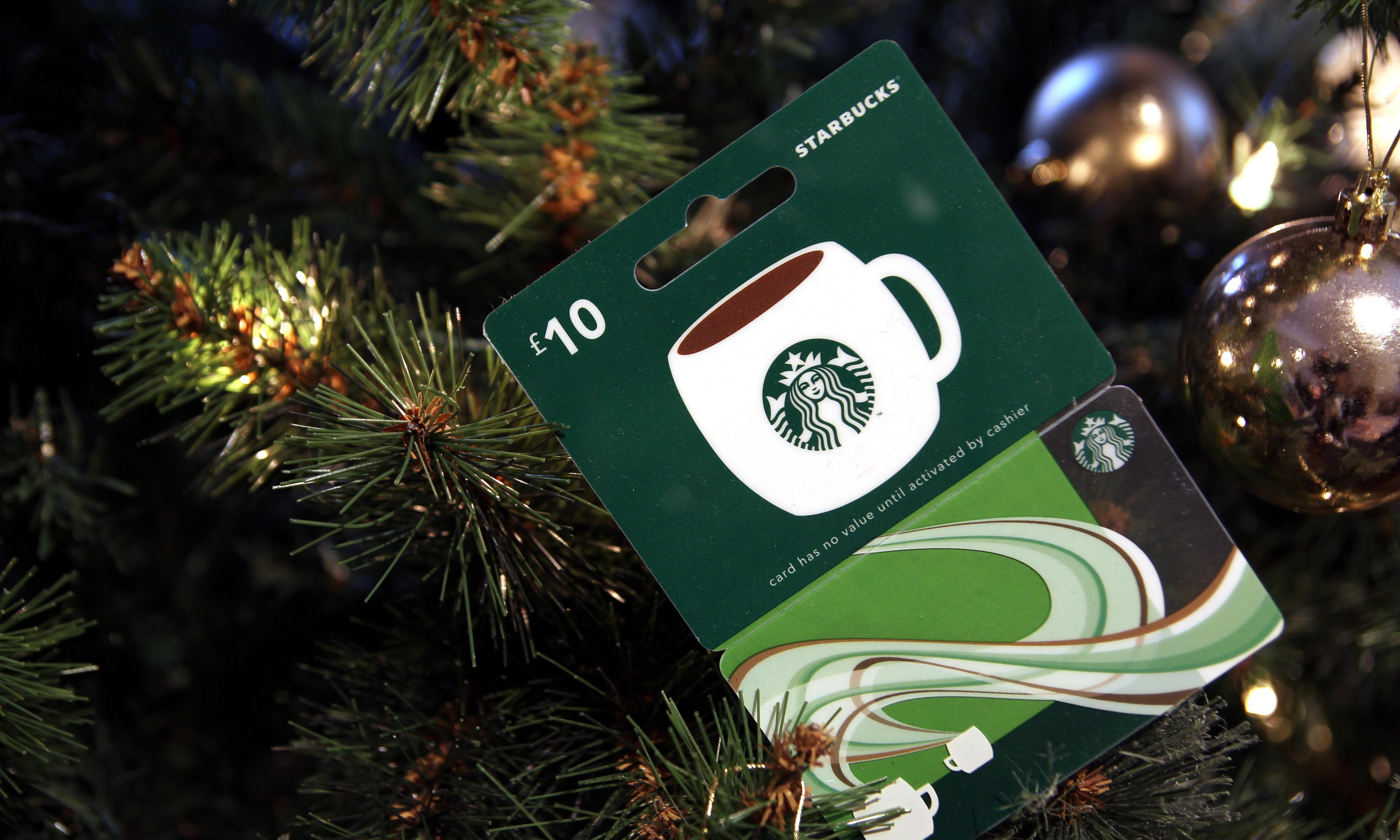 The Starbucks gift card I bought is useless