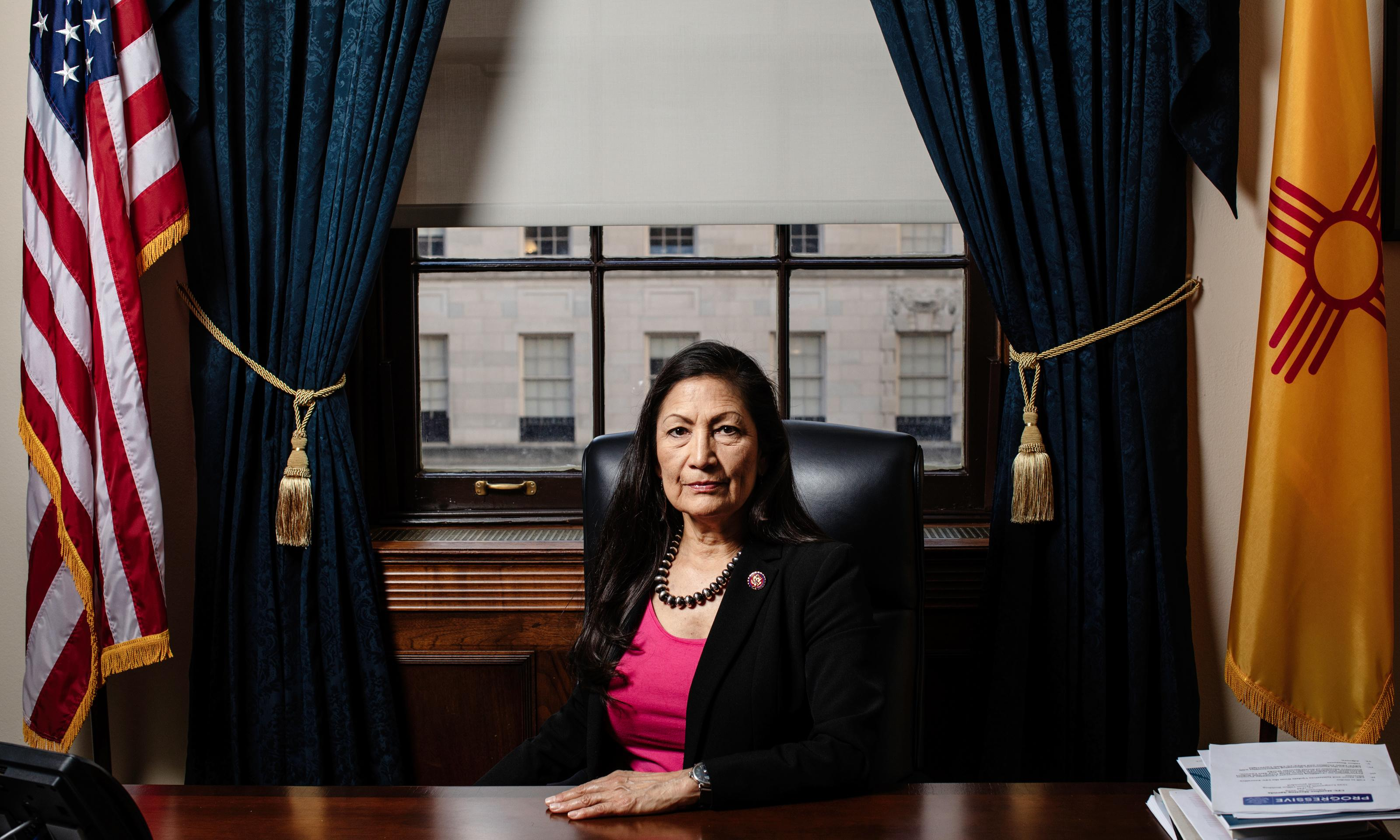 'It's my homeland': the trailblazing Native lawmaker fighting fossil fuels