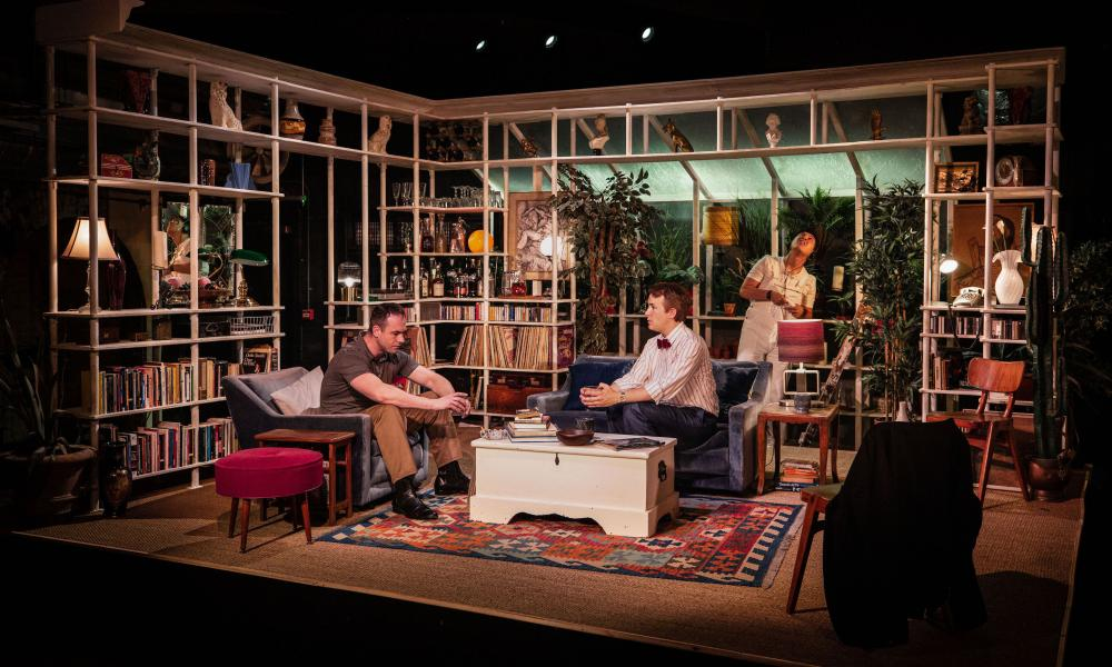 Edward M Corrie, Paul Keating and James Bradwell in My Night With Reg.