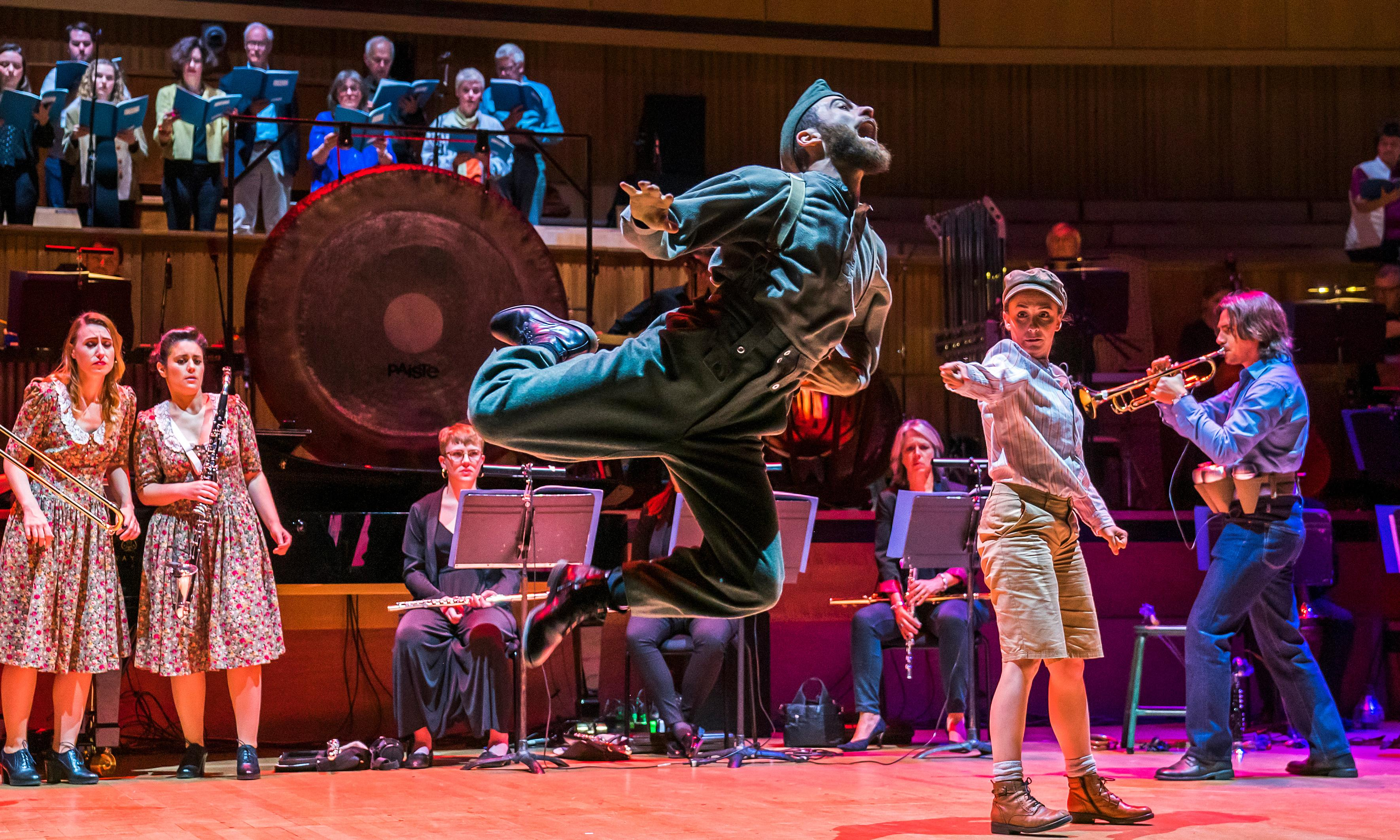 Donnerstag aus Licht review – ambitious Stockhausen staging realigns cosmic order