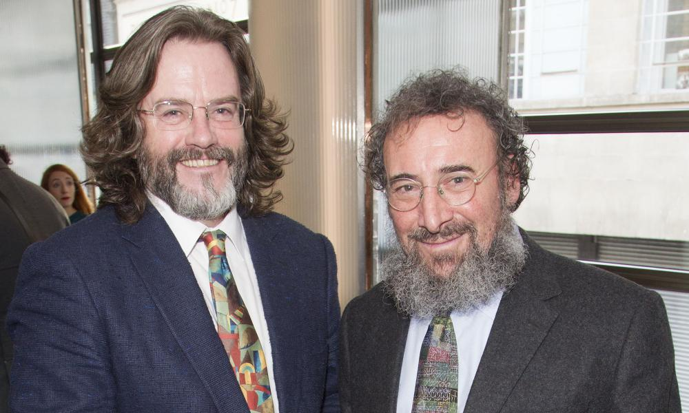 Gregory Doran with Antony Sher in 2015.