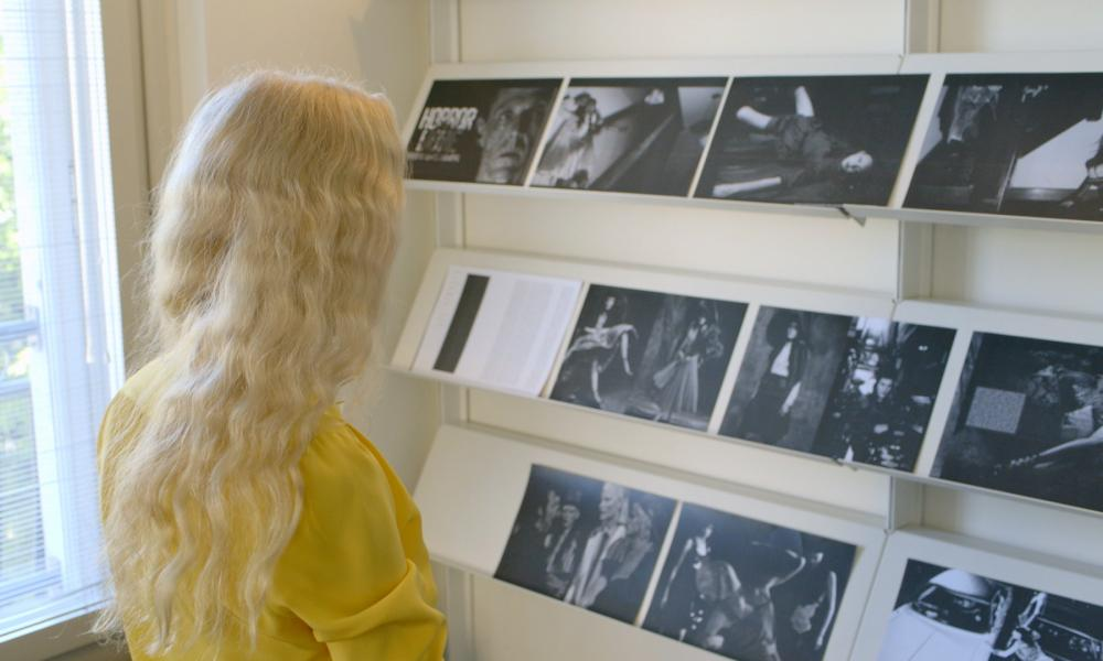 The more fantastical the better: Franca Sozzani looks over a new issue of Vogue Italia.