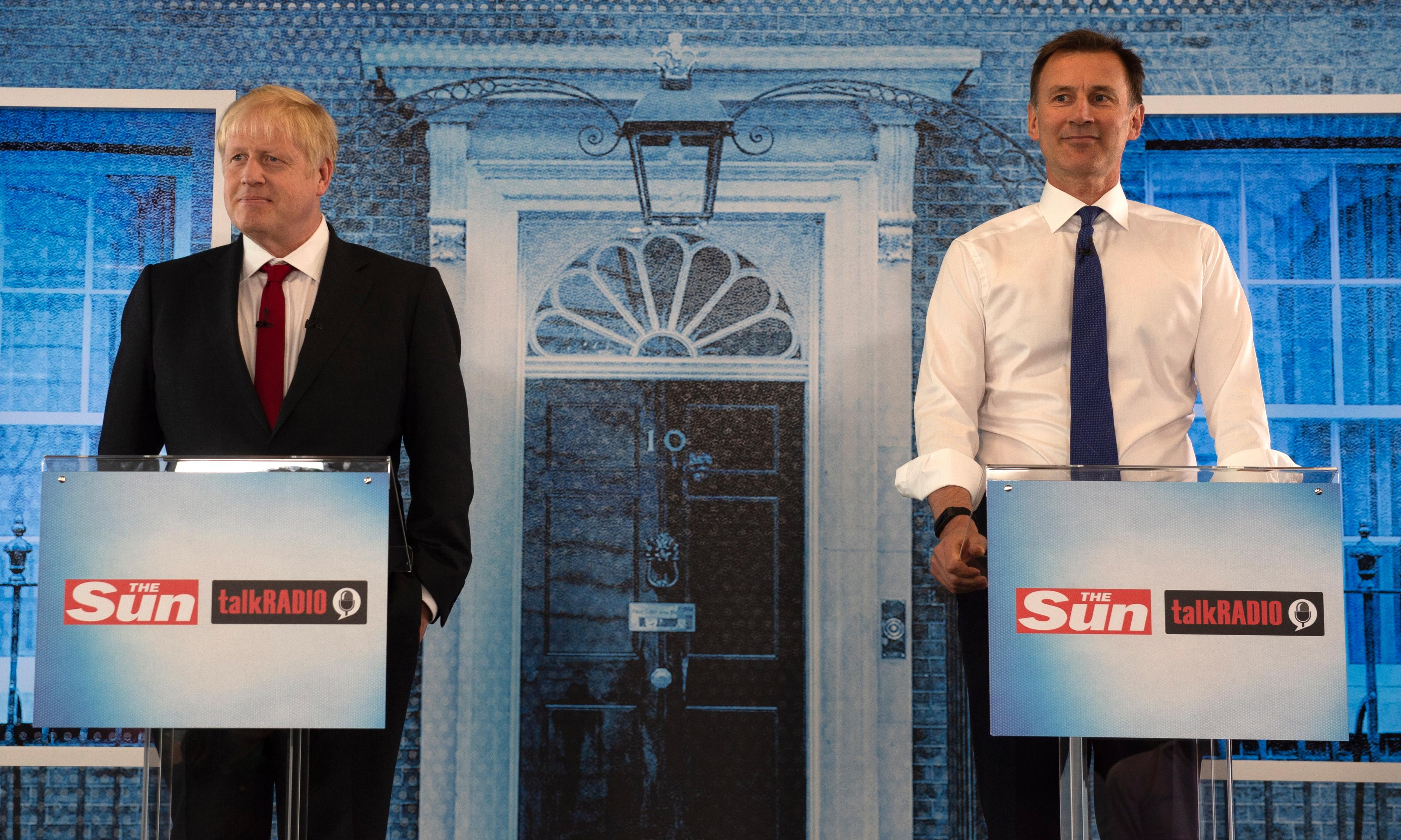 Hunt and Johnson: the backstop is dead and can't be in any EU deal