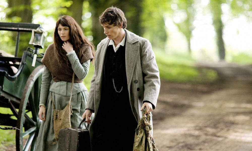 They circle and yearn … Tess of the D'Urbervilles (2008), starring Gemma Arterton and Eddie Redmayne.