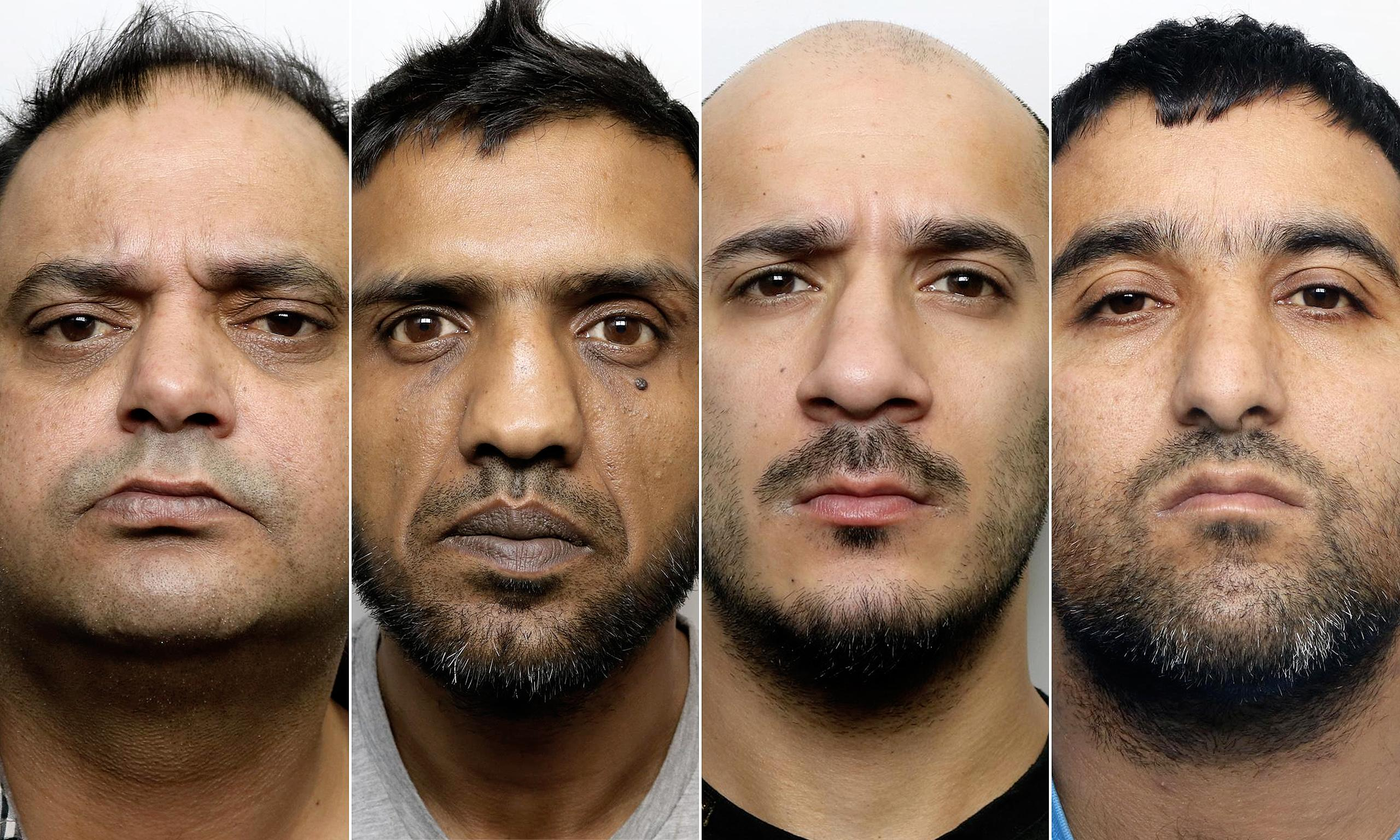 Six men jailed for rape and assault of two girls in Huddersfield