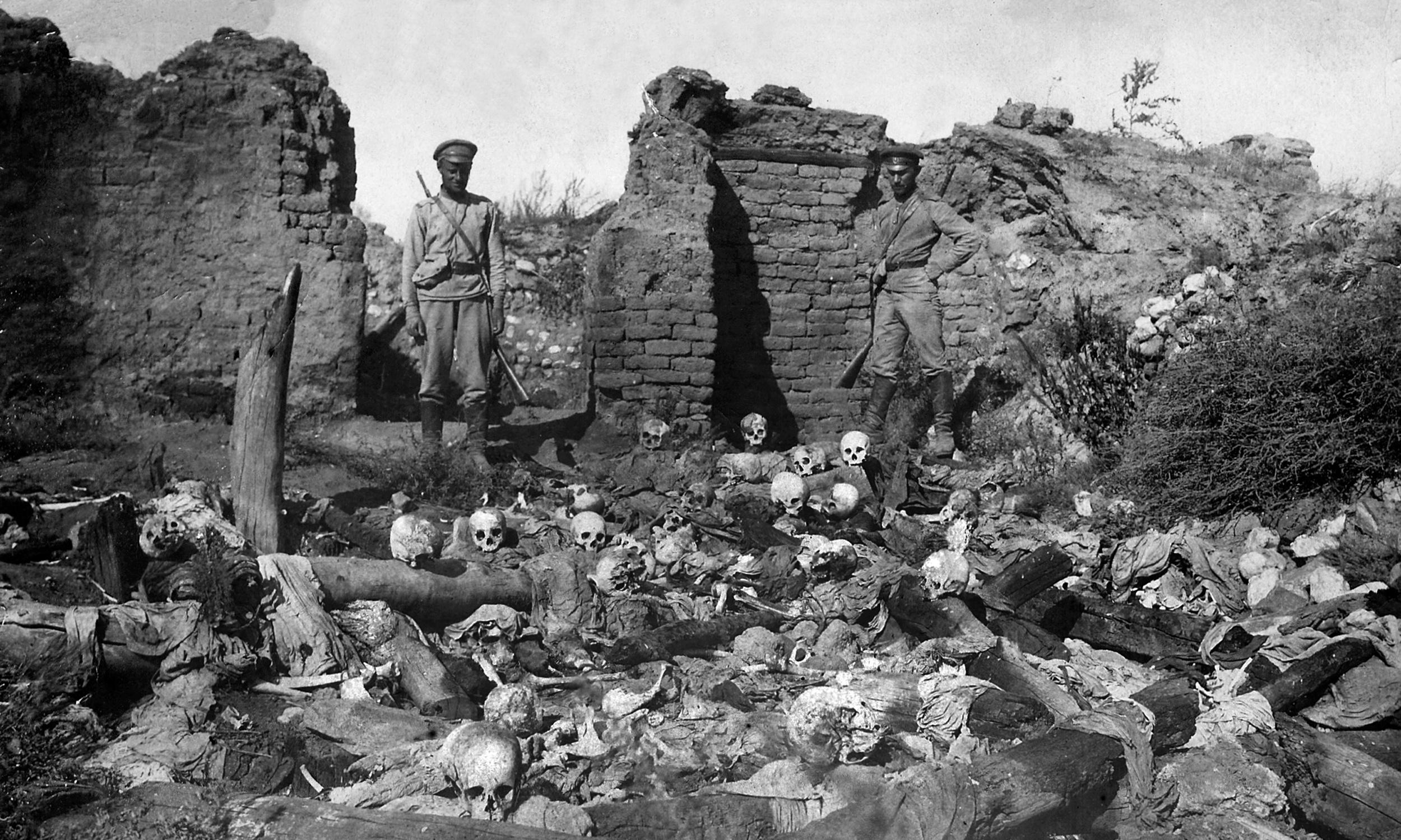 Anzacs witnessed the Armenian genocide – that shouldn't be forgotten in our mythologising