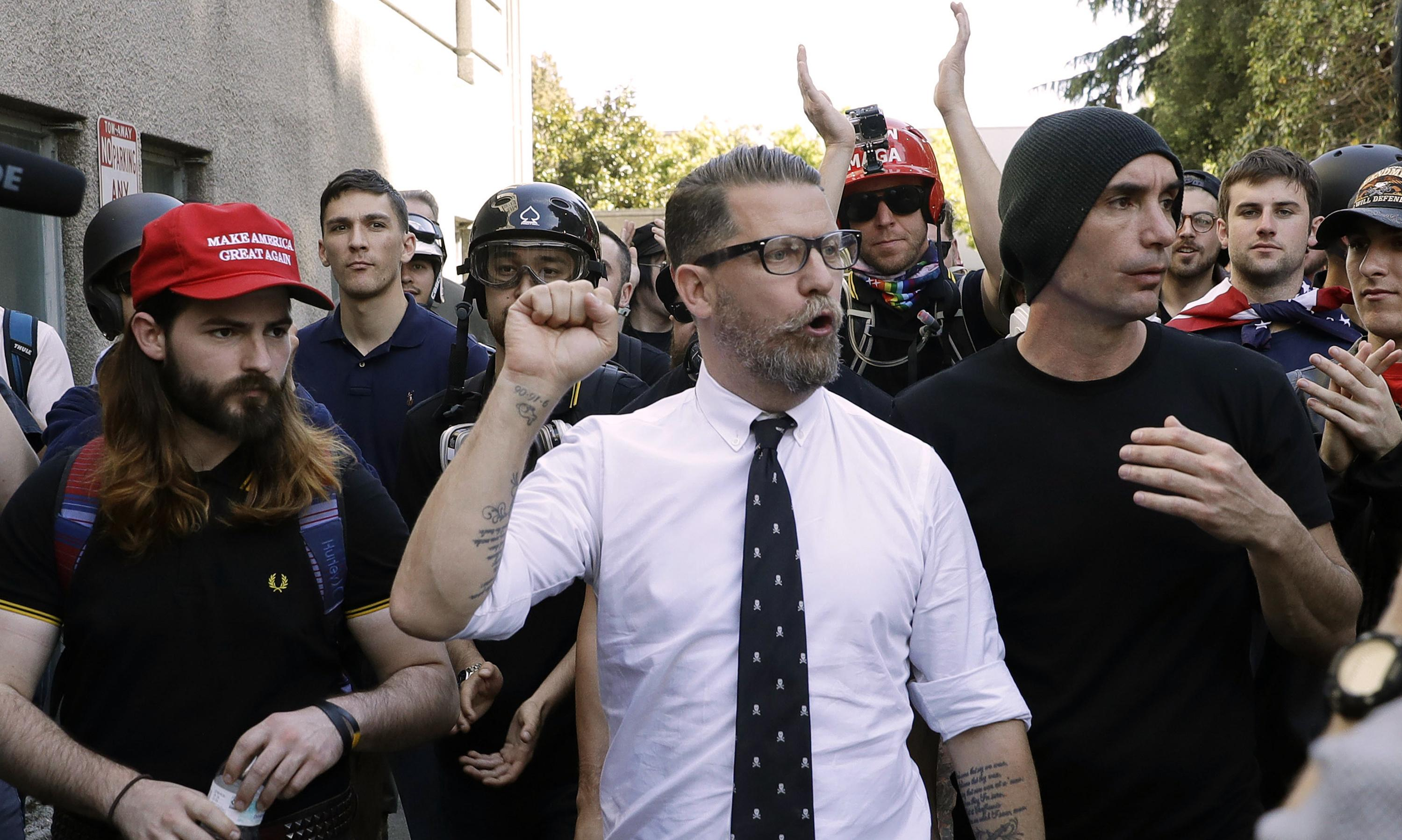 US hate groups have seen ideas enter mainstream in Trump era, report finds