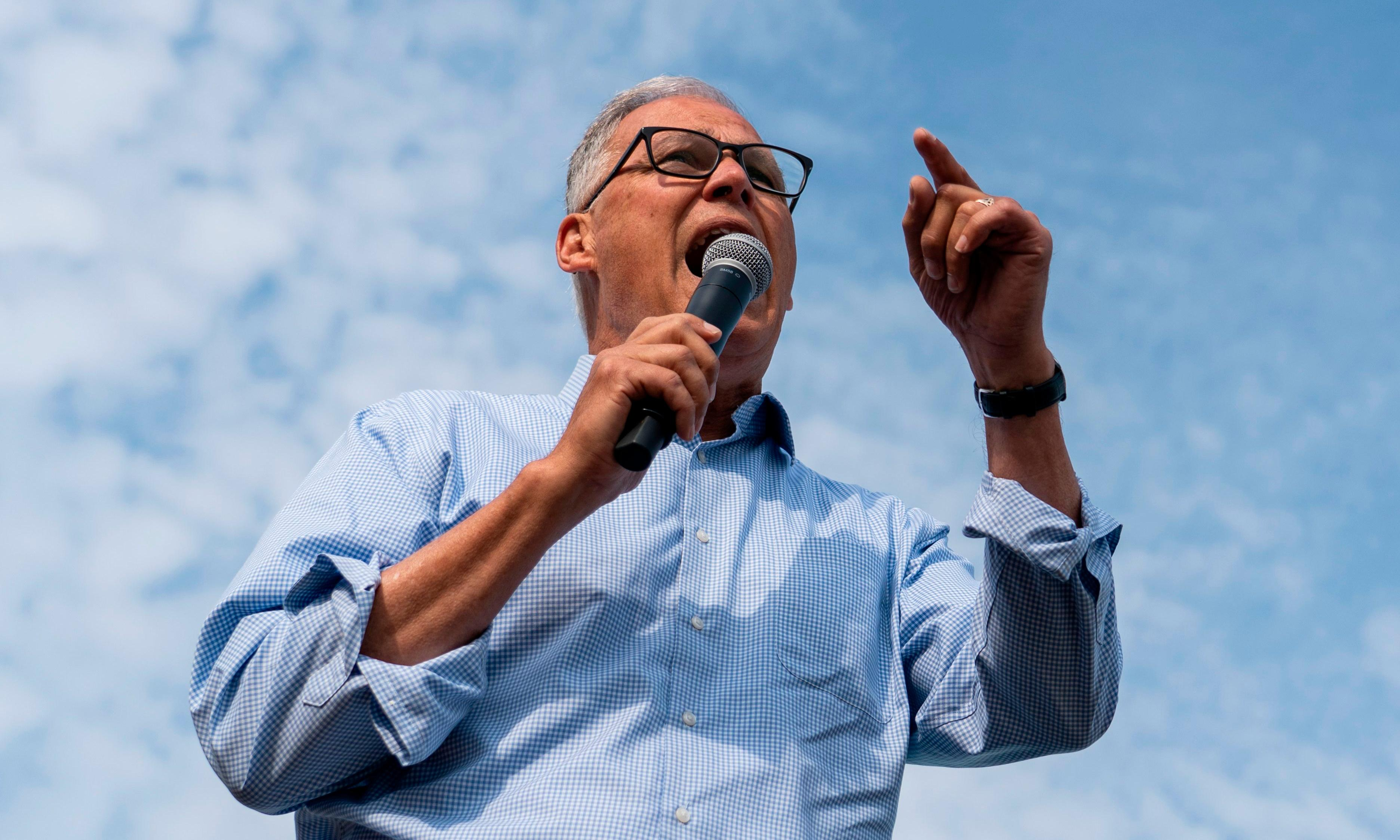 Washington governor Jay Inslee drops out of 2020 presidential race