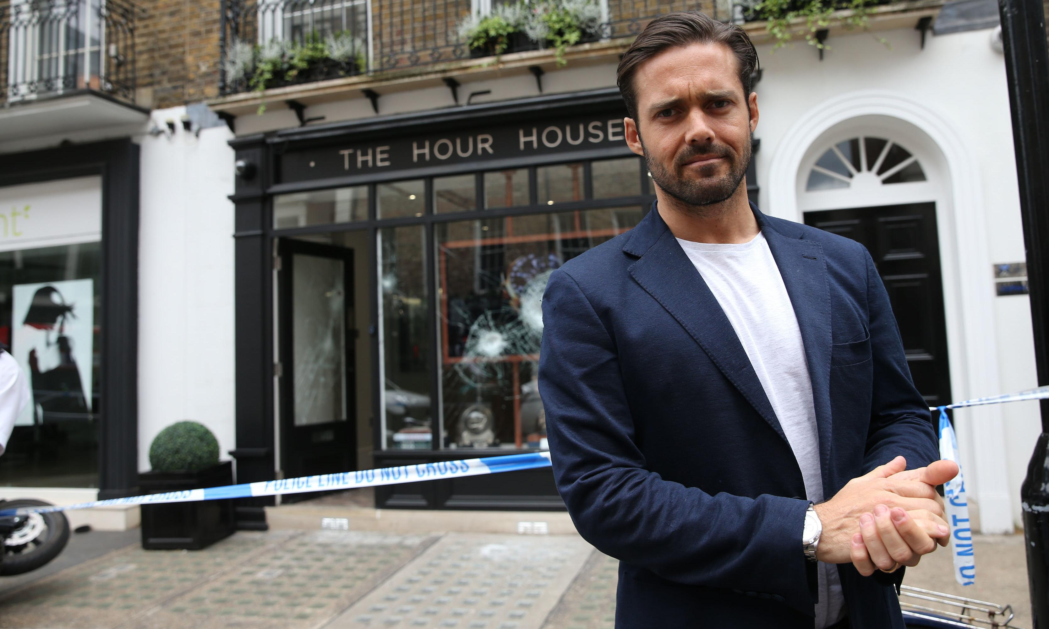 Made in Chelsea star caught up in armed smash-and-grab raid