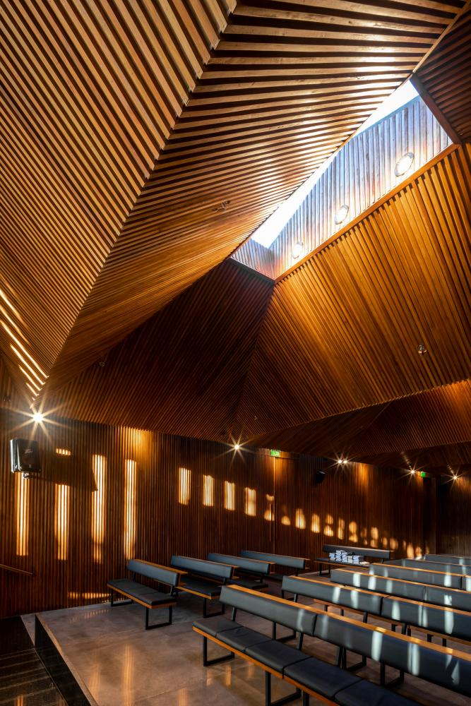 Equipo de Arquitectura's UHP synagogue in Asunción.