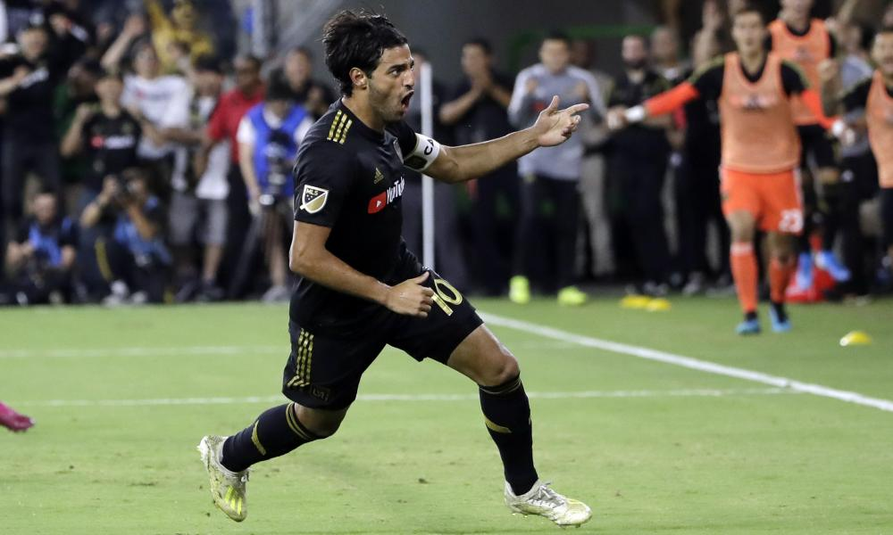 Carlos Vela is on course to break MLS's goalscoring record