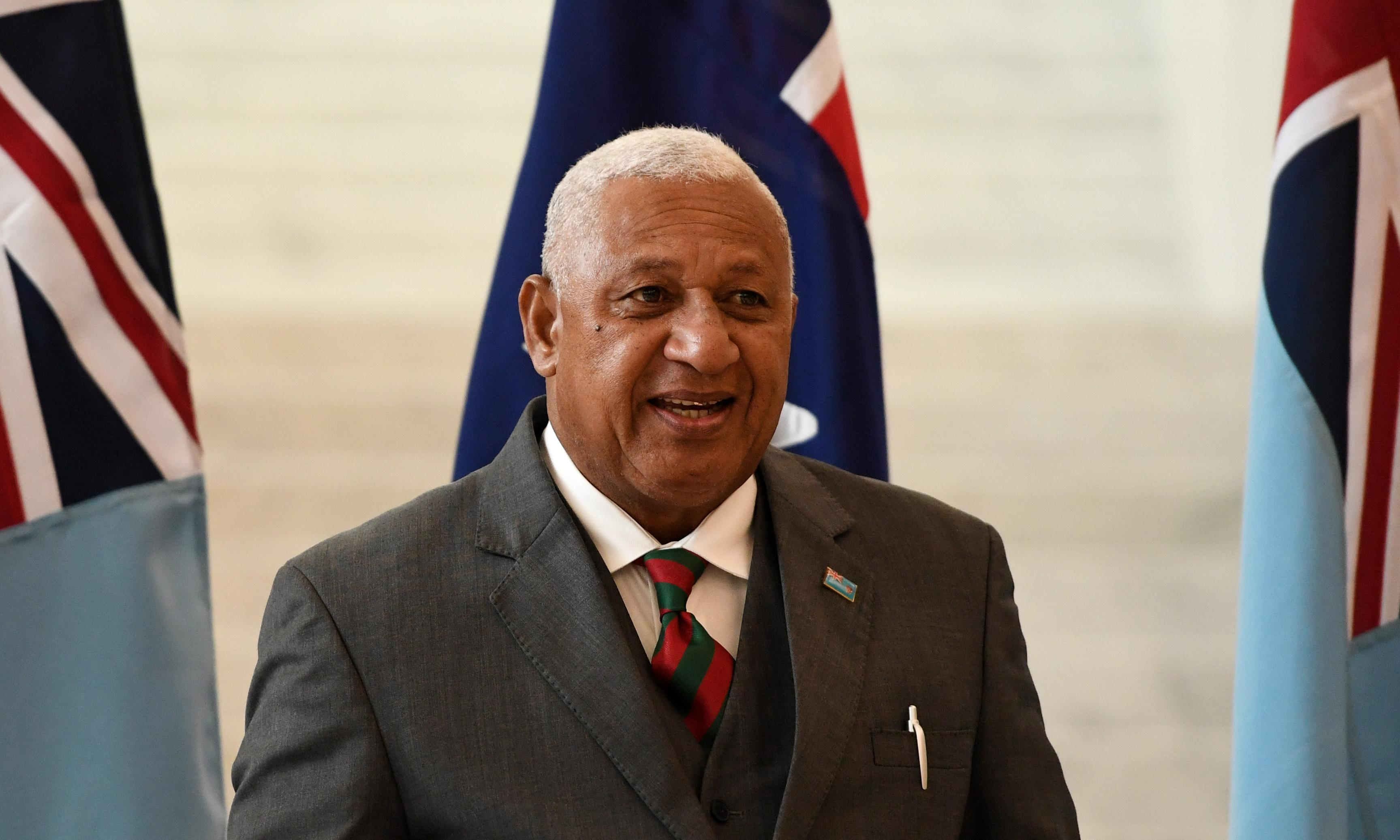 Fijian prime minister calls on Australia to be 'far more ambitious' on climate