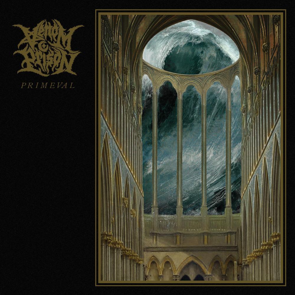 Venom Prison: Primeval album cover