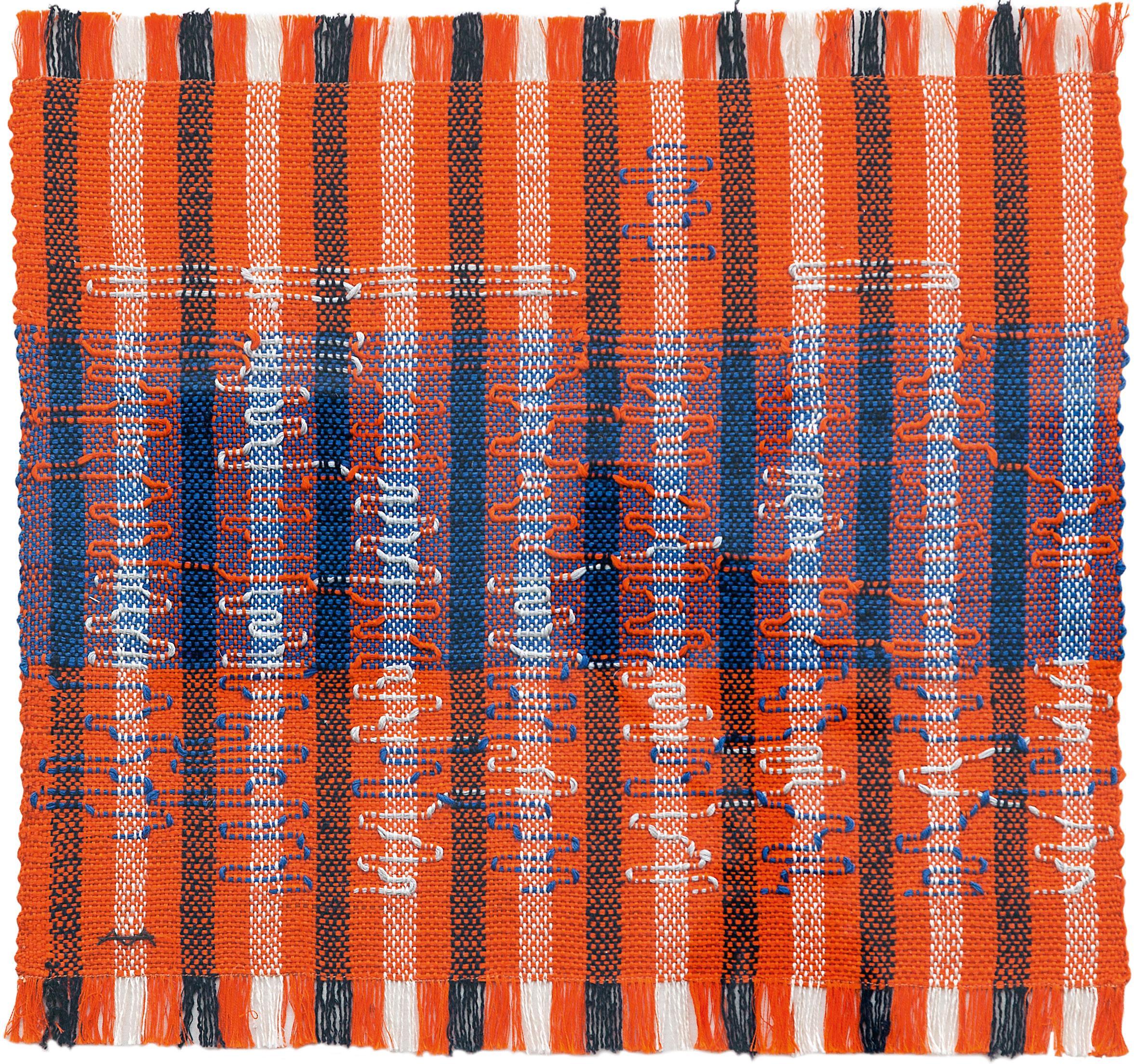 Anni Albers's Intersecting: geometric language