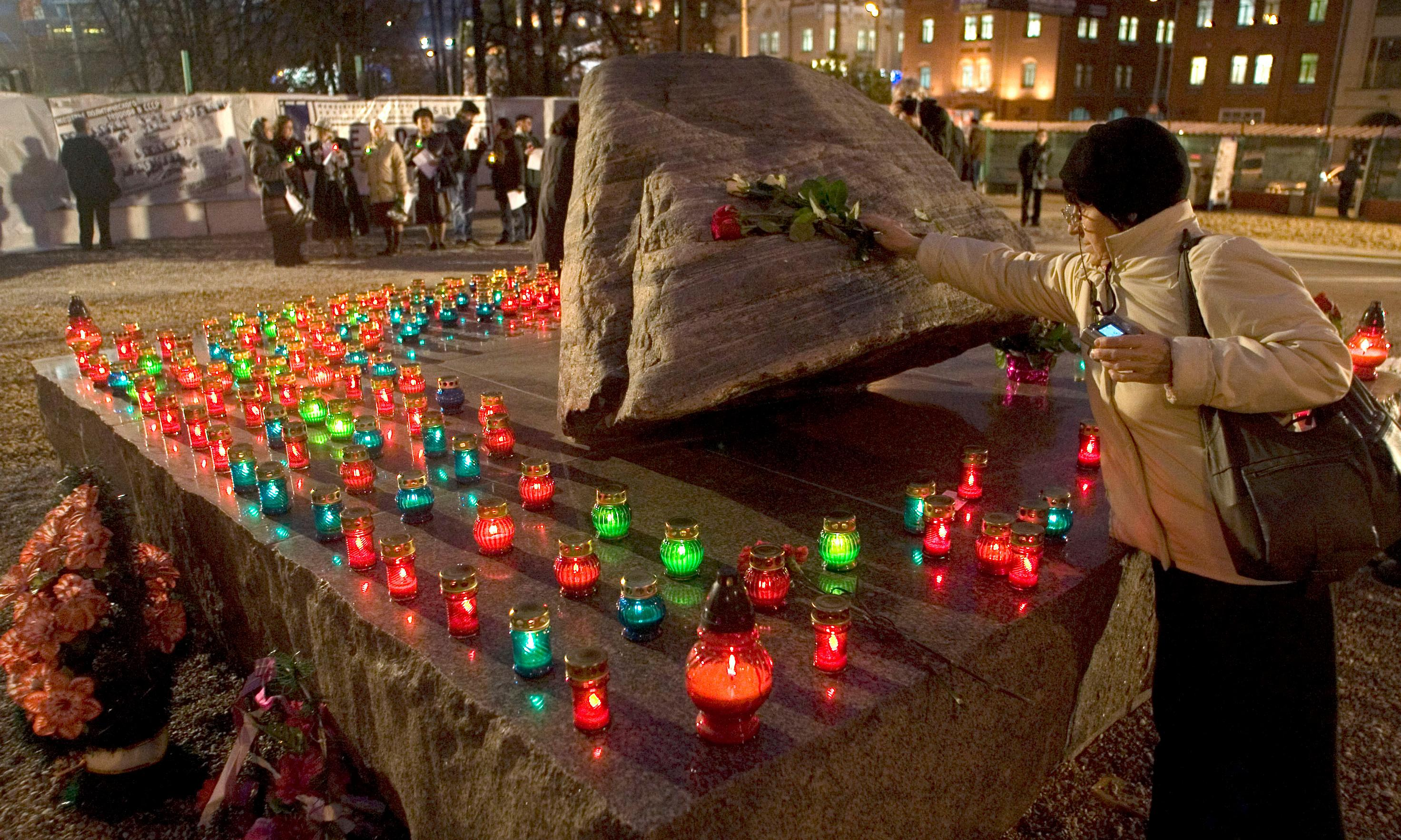 Moscow bans ceremony honouring victims of Stalin's Terror