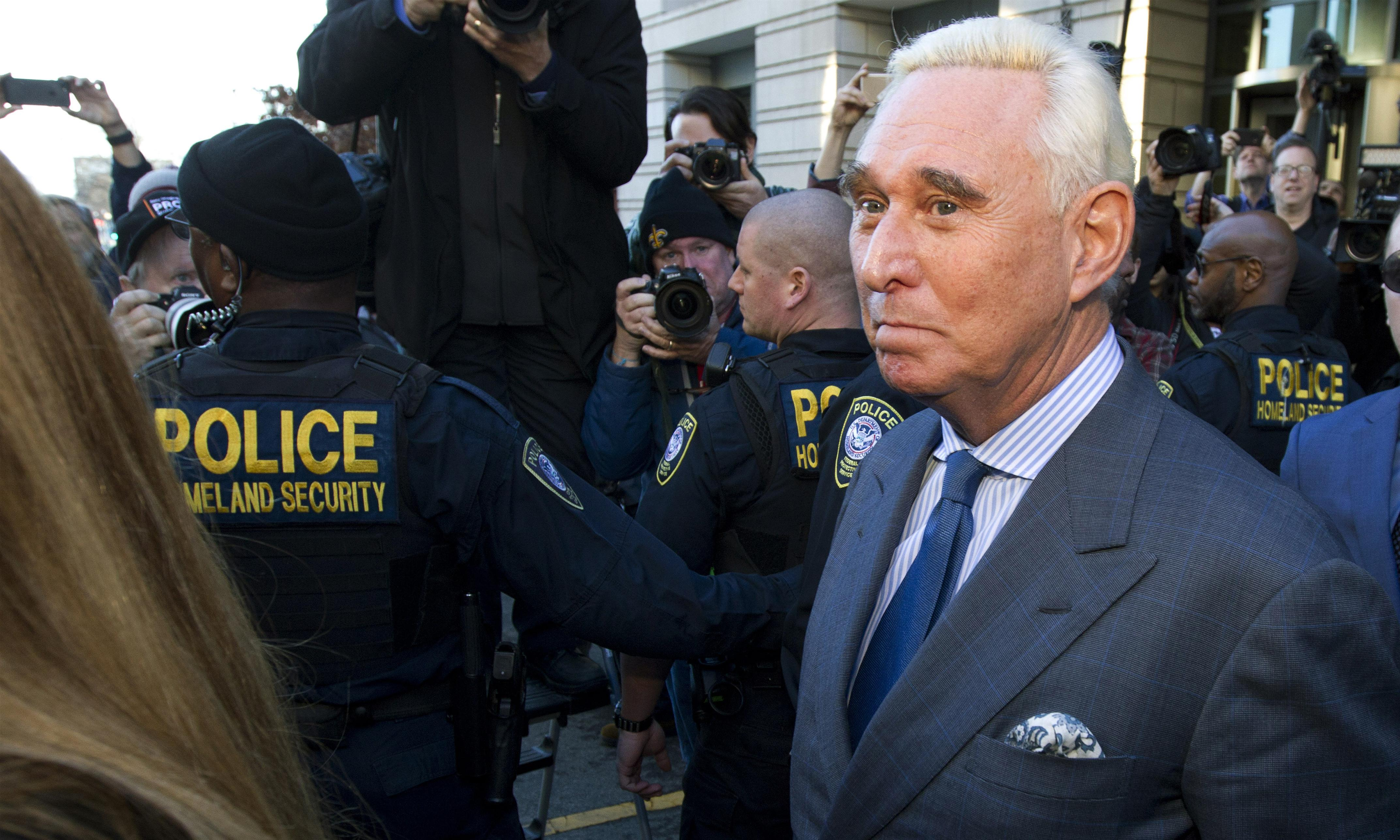 US briefing: Roger Stone, North Korea aid and North Carolina election