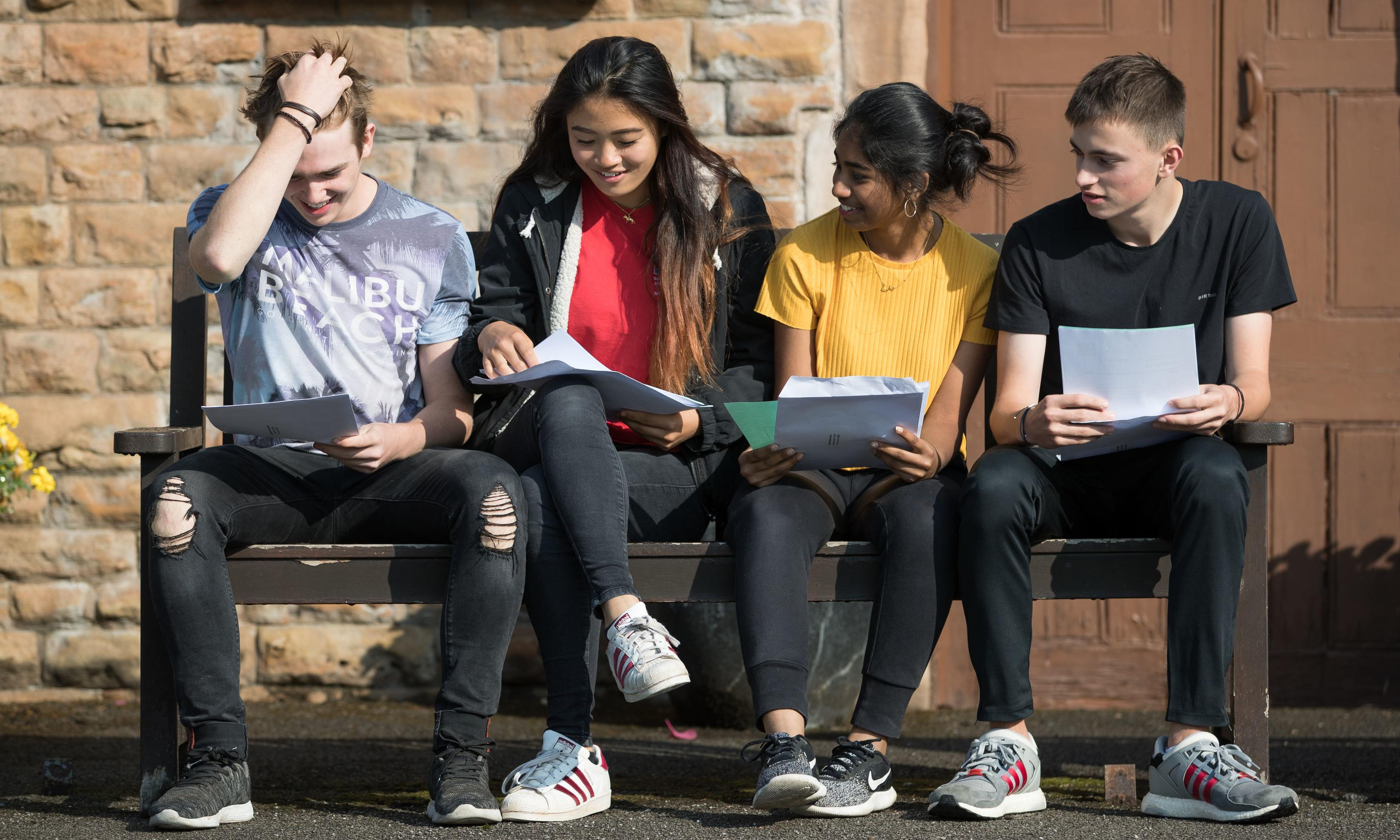 Don't despair if GSCE results day doesn't go your way – life is only just beginning