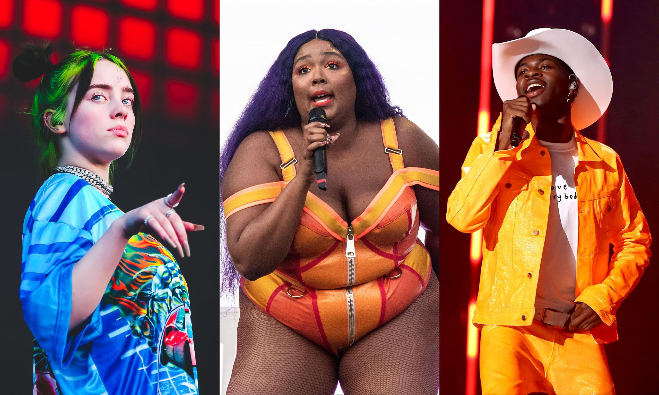 Lizzo, Billie Eilish and Lil Nas X top 2020 Grammy nominations