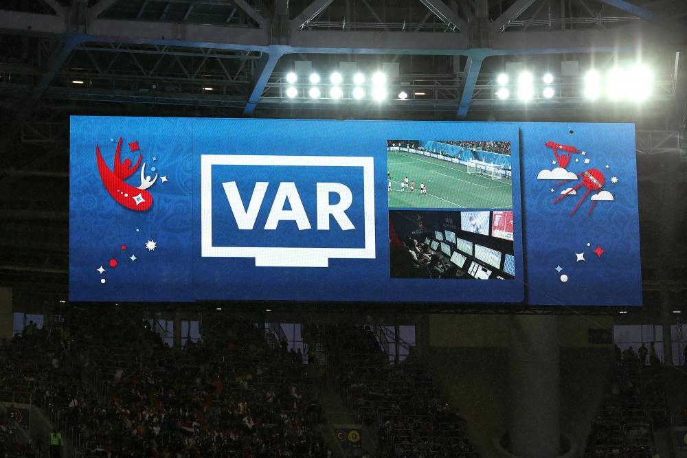 The decision is referred to VAR.