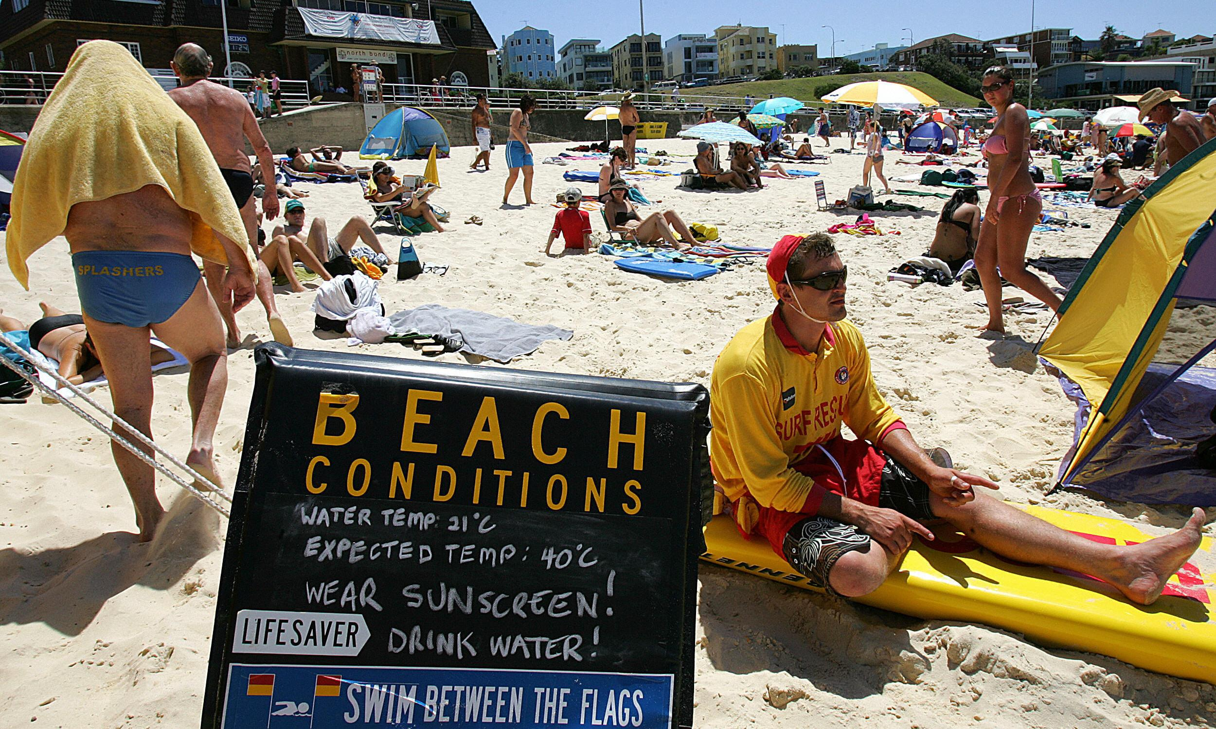 'It's like hell here': Australia bakes as record temperatures nudge 50C