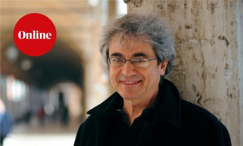Bologna - Italy - 13/03/2018 - professor Carlo Rovelli, physician at Portico dei Servi