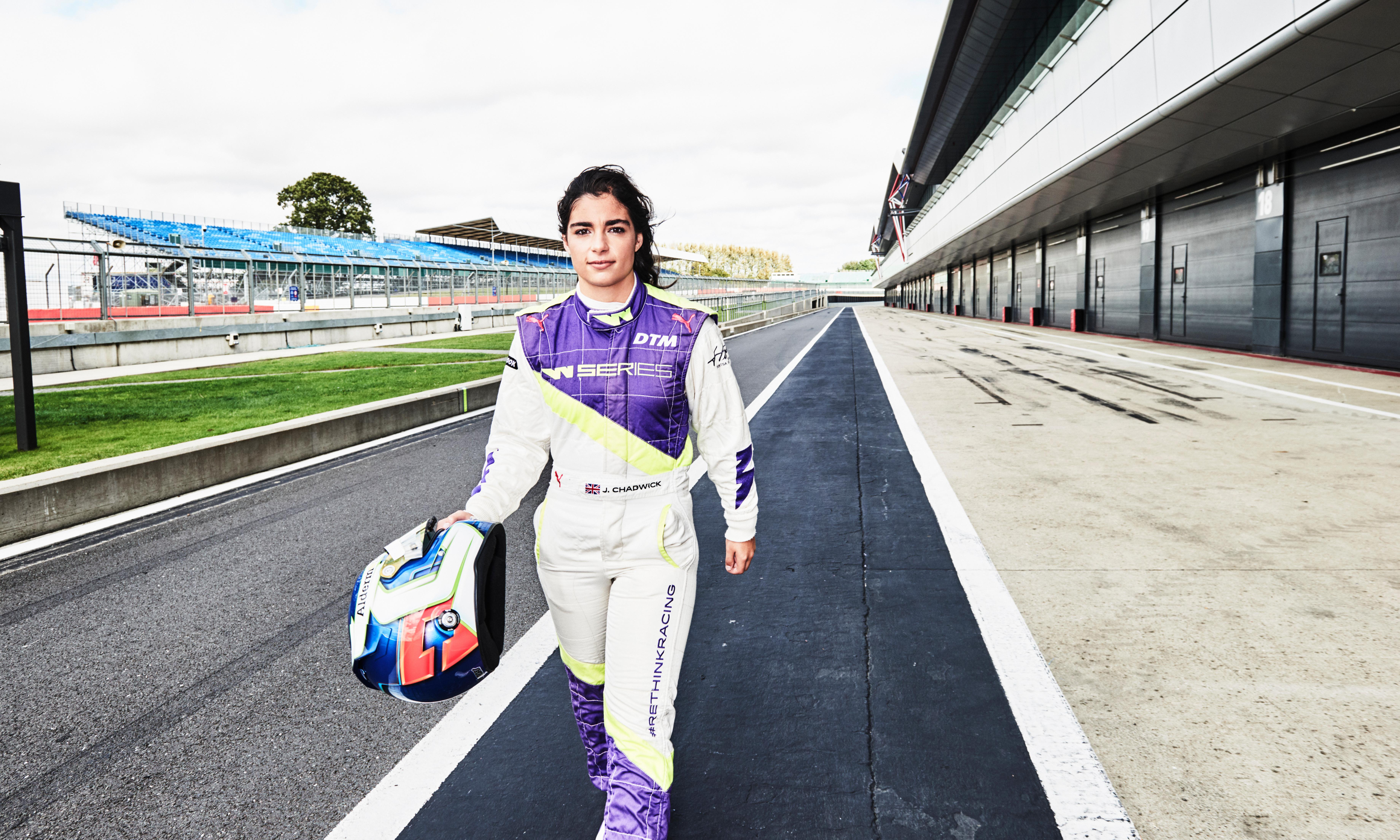 'This is my adrenaline fix': Jamie Chadwick, F1's first female hope in 43 years