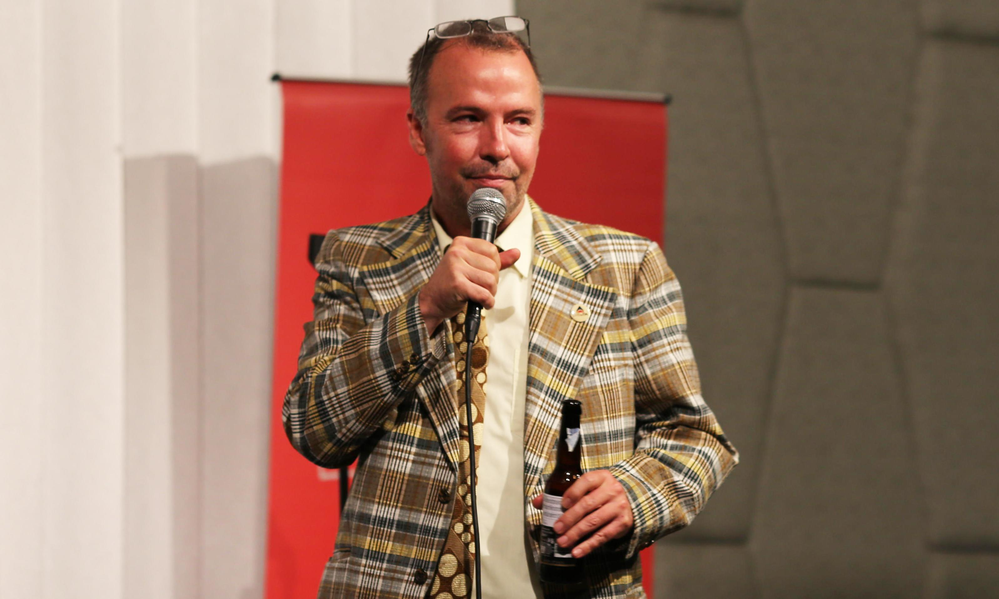 Doug Stanhope review – grim, thrilling and appallingly funny