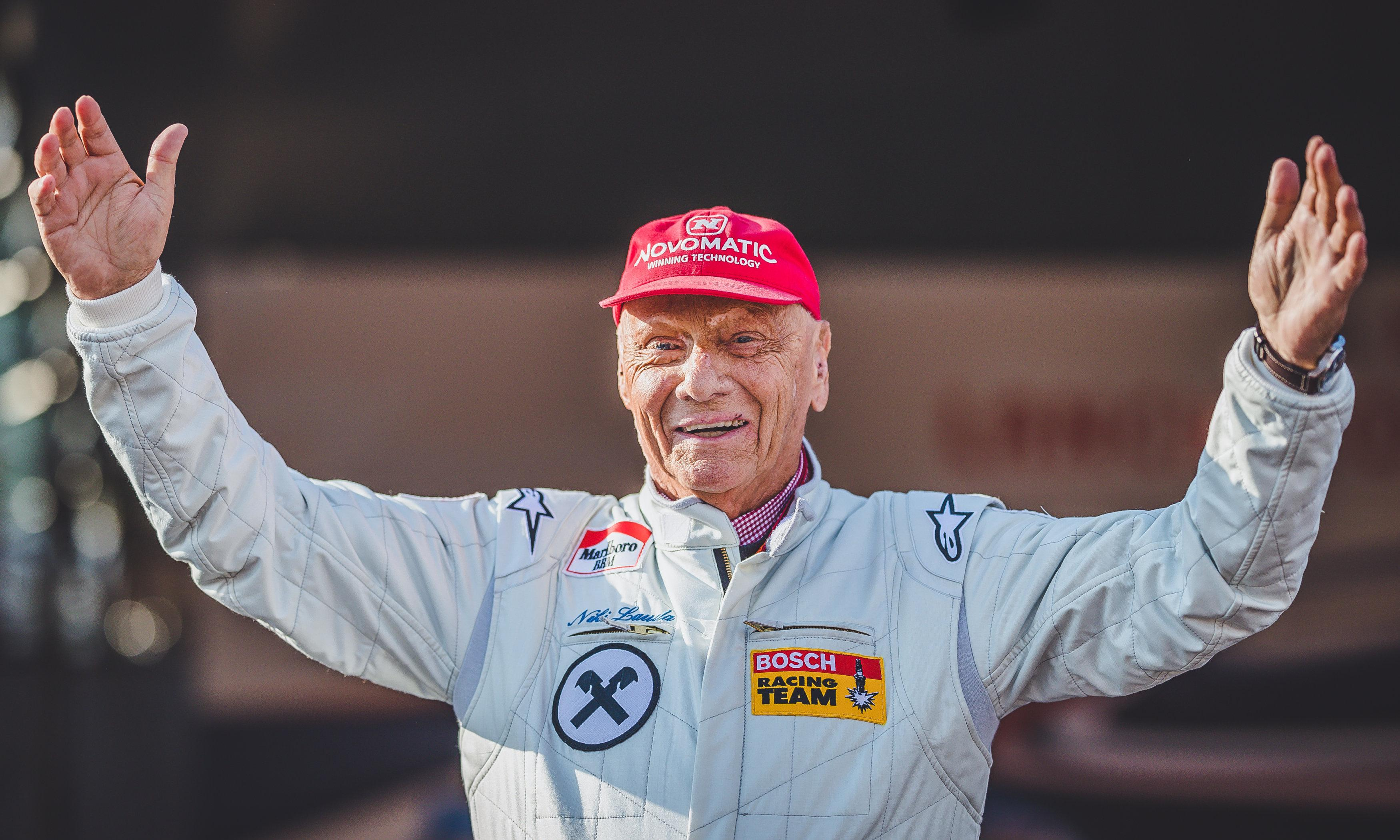 My friend Niki Lauda was a street fighter and a shining talent in F1