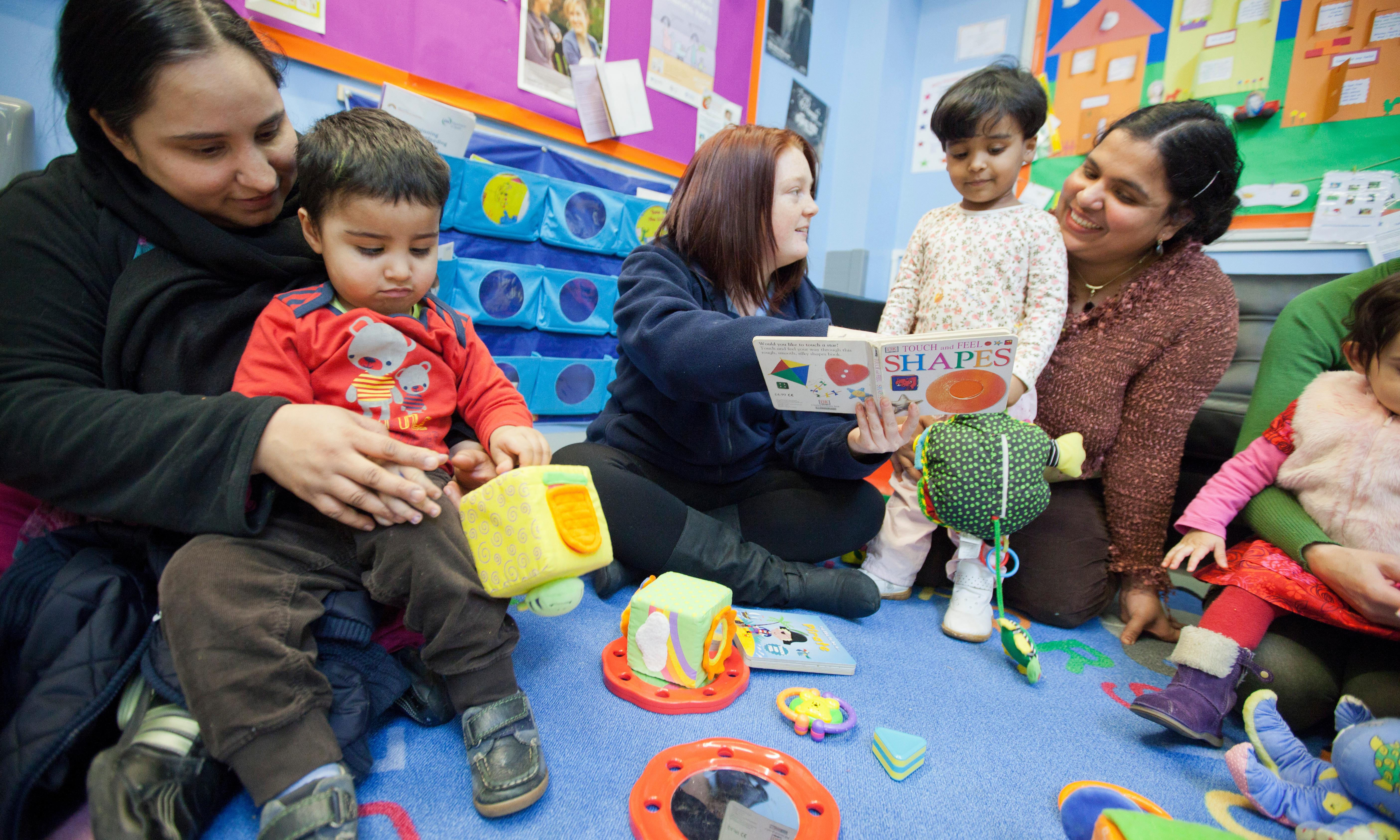 Sure Start numbers plummet as cuts hit children's services