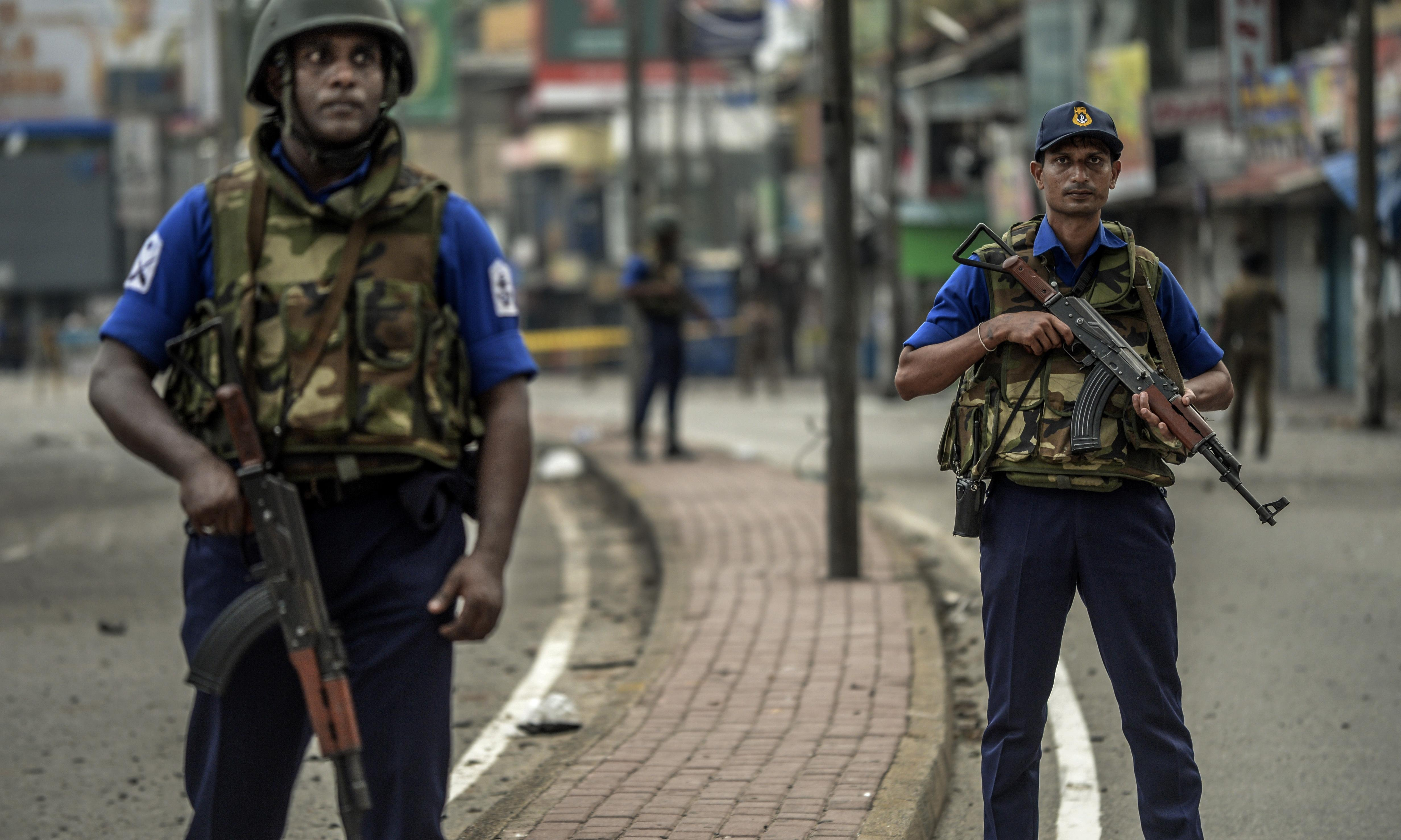 Pressure builds on Sri Lankan officials as Isis claims Easter attacks