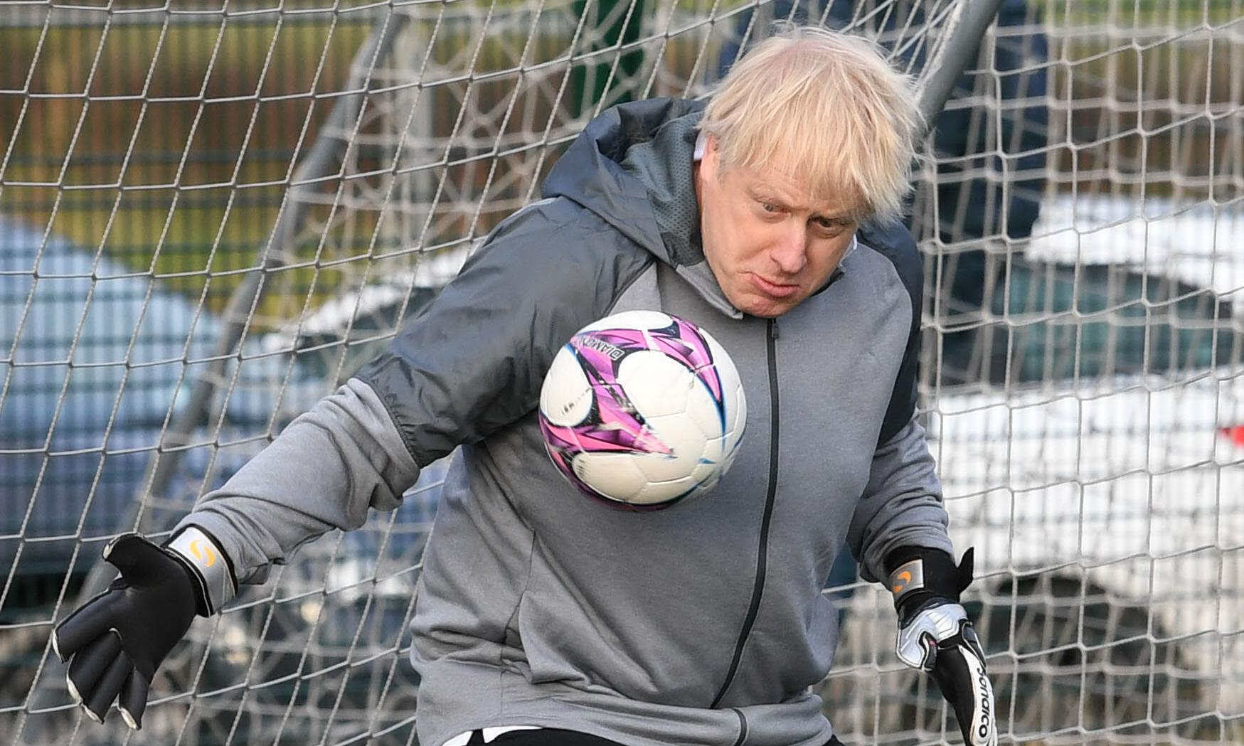 The gloves are off in Uxbridge, but Johnson is nowhere to be found