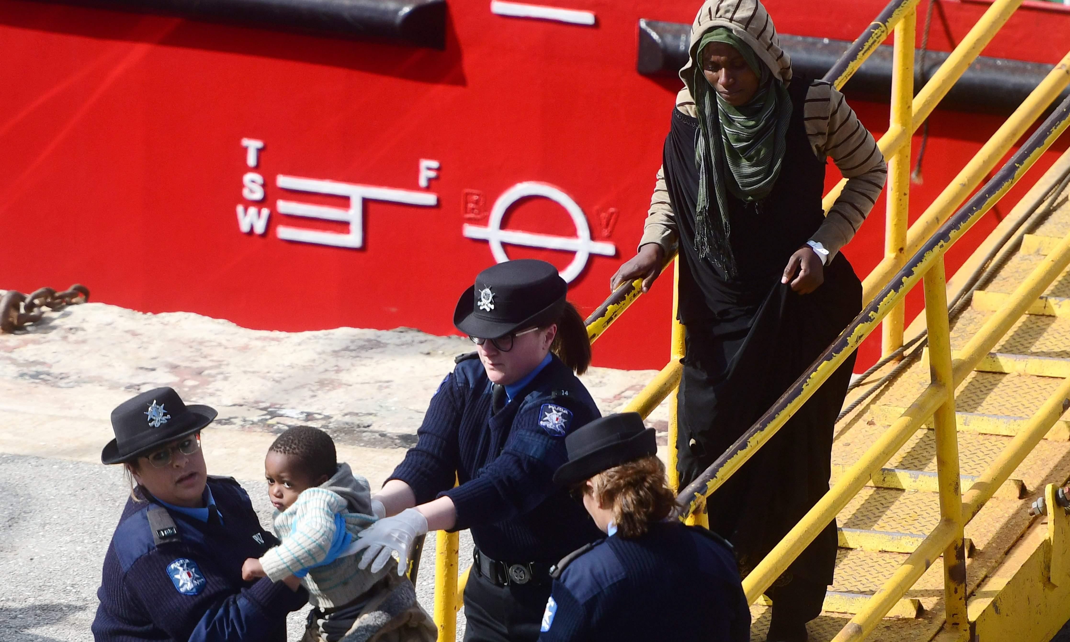 Hijacked captain recalls 'horror' in Mediterranean Sea as migrants took over ship