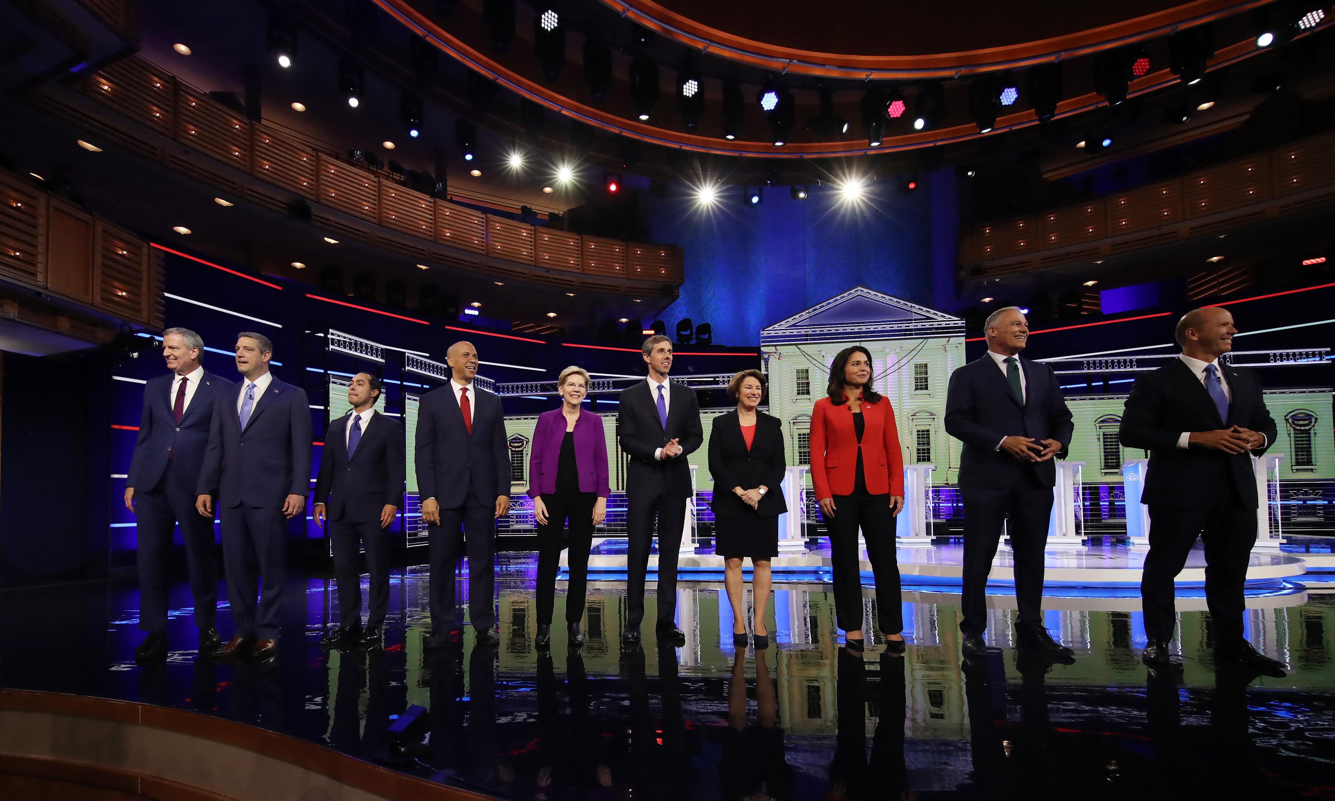 US briefing: Democratic debate, Trump's G20 threats and migrant deaths