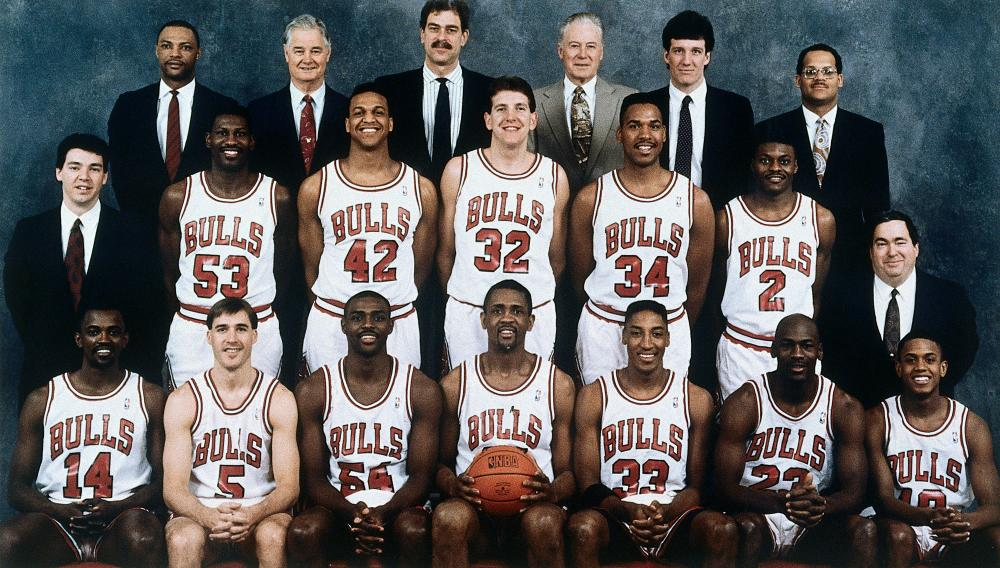 The 1990-91 Chicago Bulls