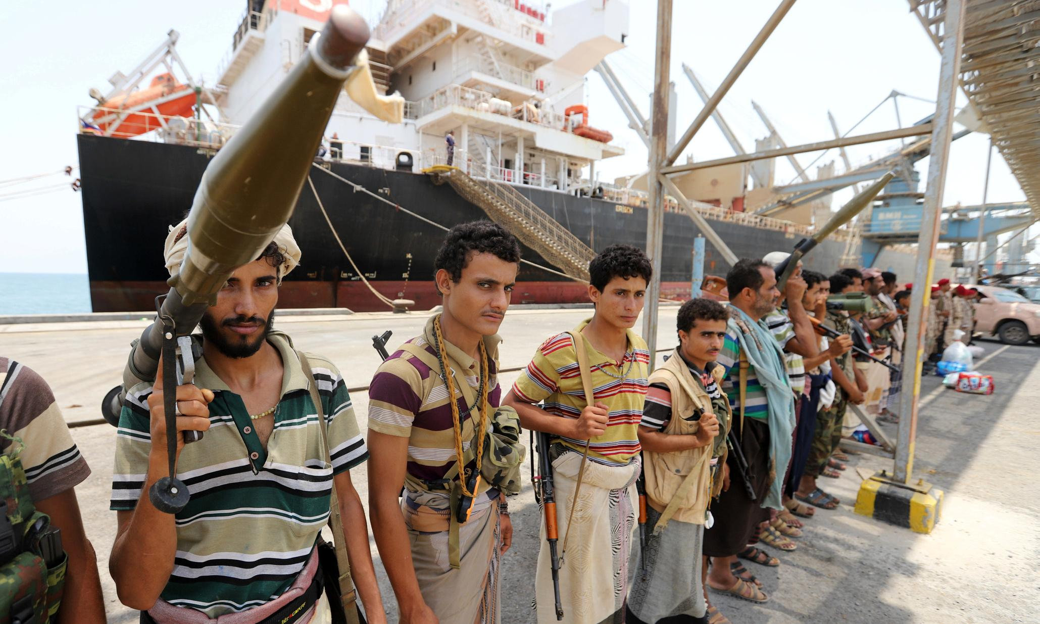 Yemen: Houthis' port withdrawal 'going according to plan', says UN