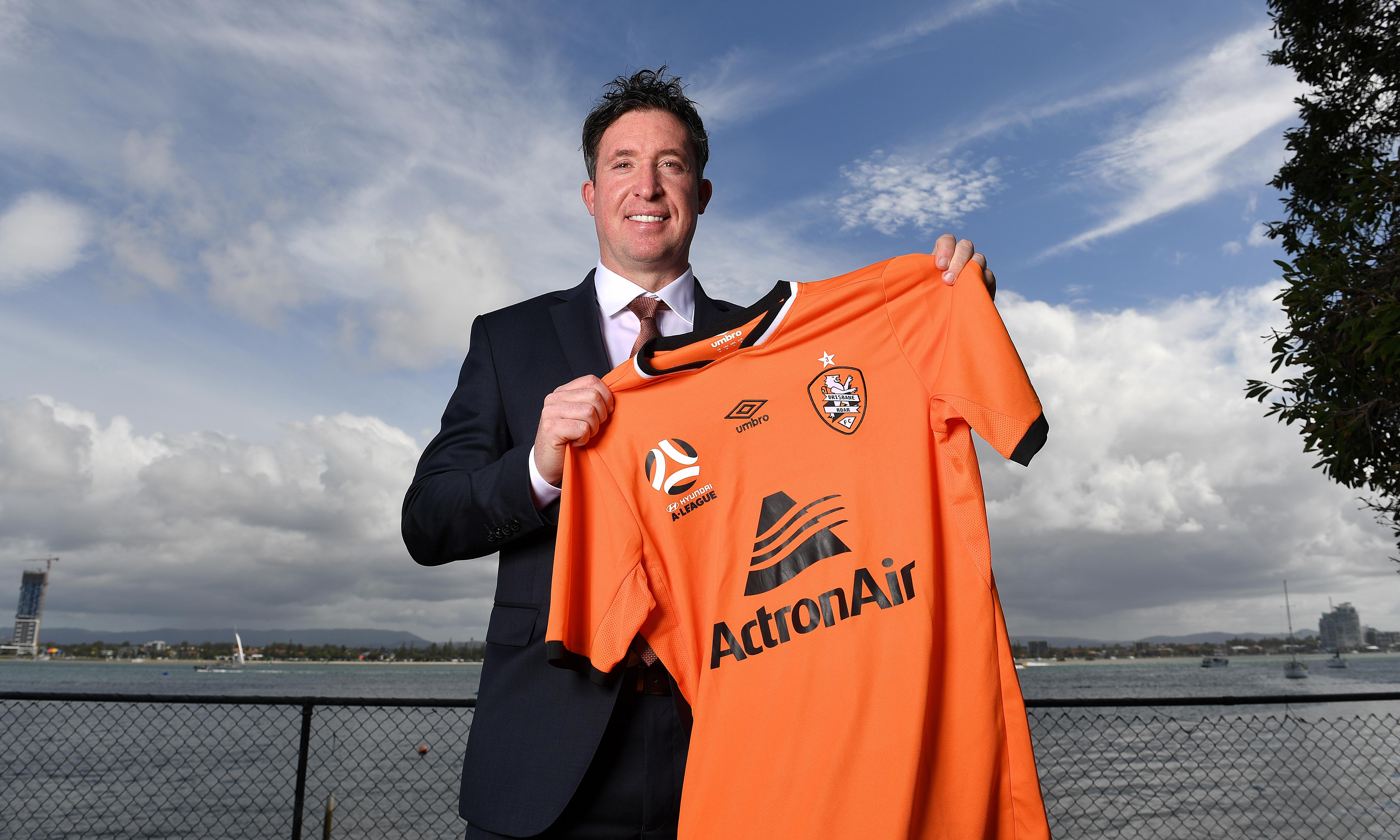 Robbie Fowler says coaching Brisbane Roar 'is a massive opportunity'