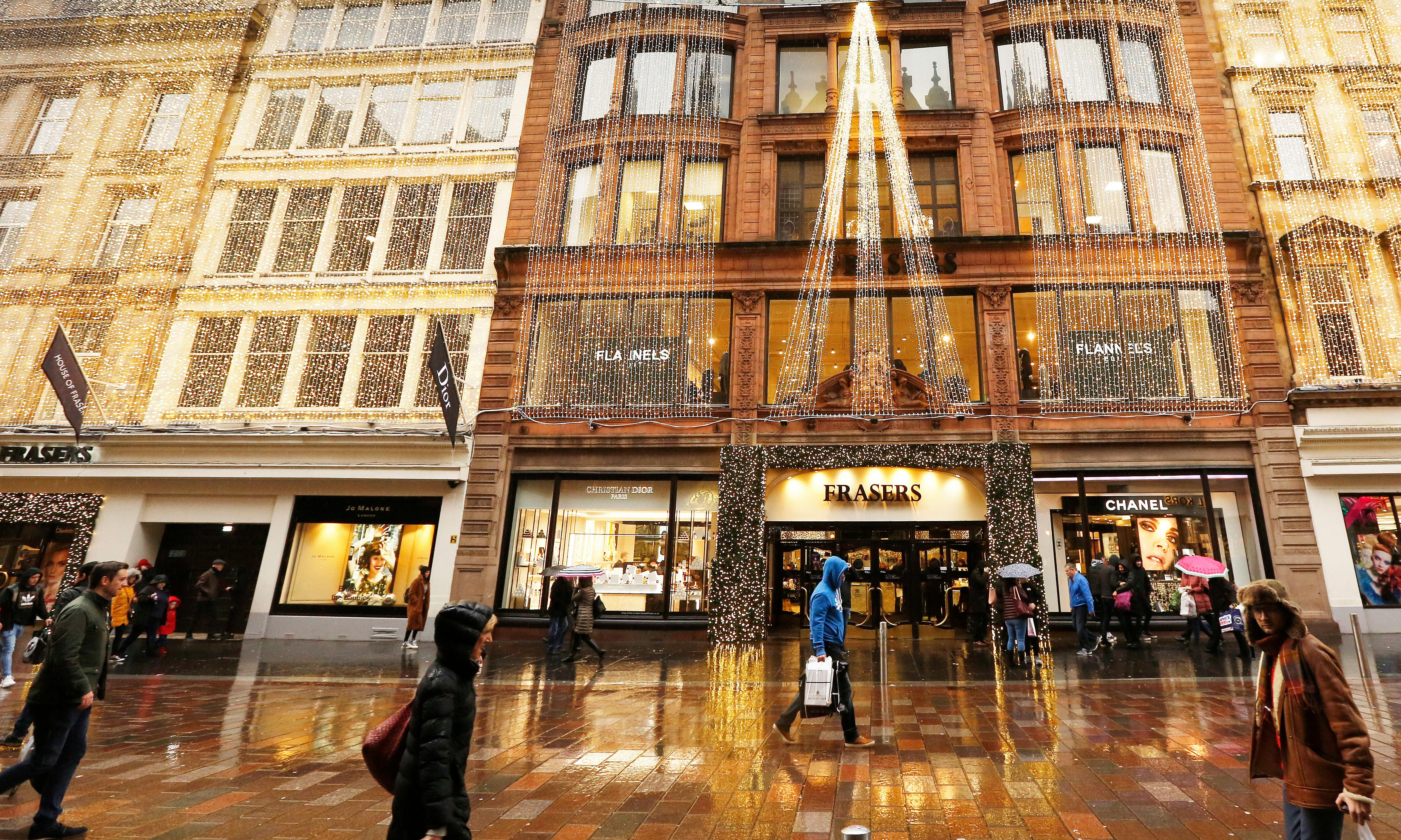 House of Fraser: up to seven stores to become luxury mini-chain