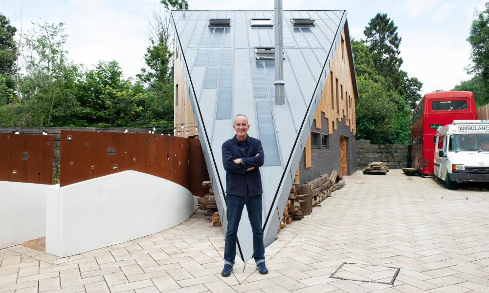 On point ... Kevin McCloud.