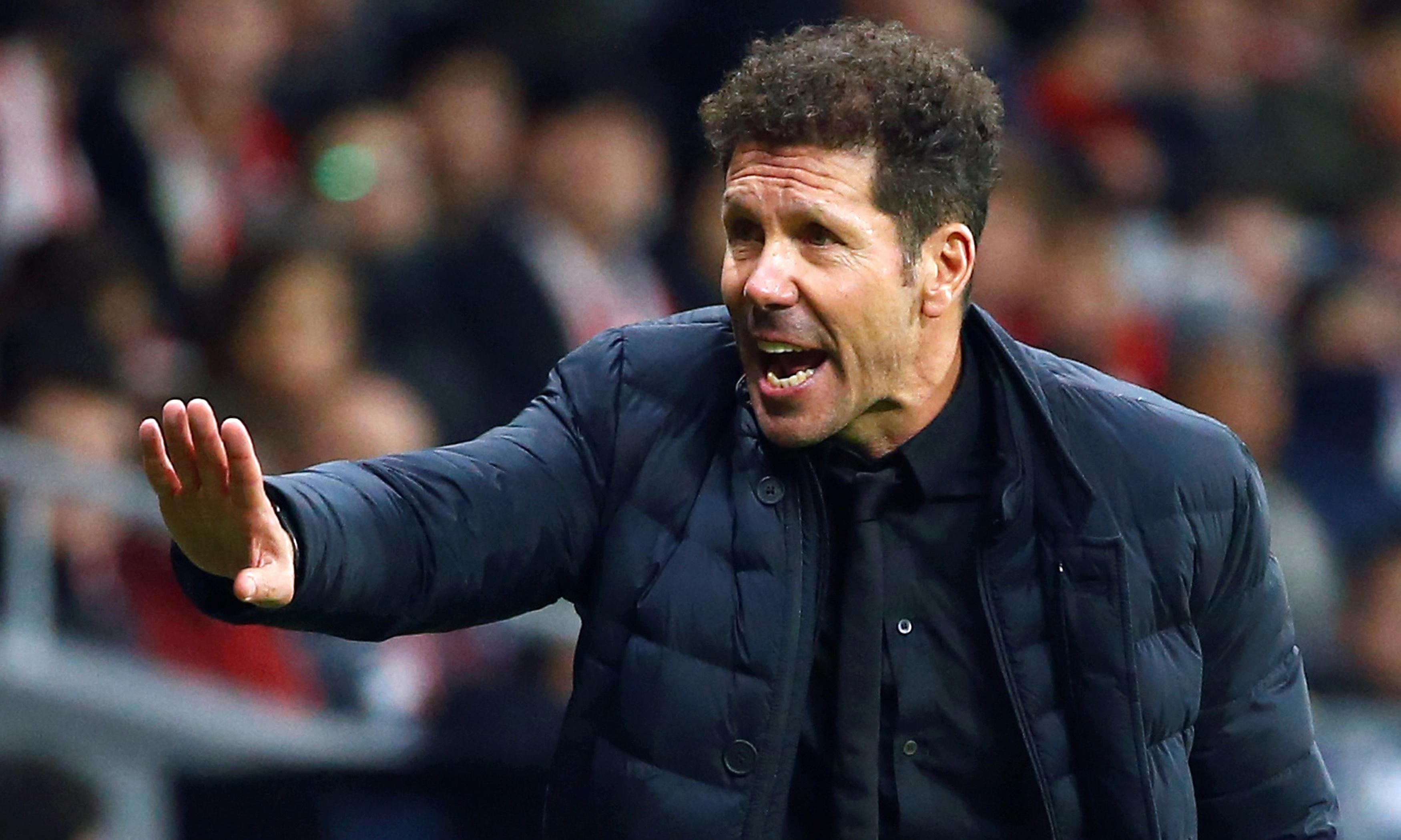 Diego Simeone's Atlético Madrid tackle Liverpool in battle of opposites