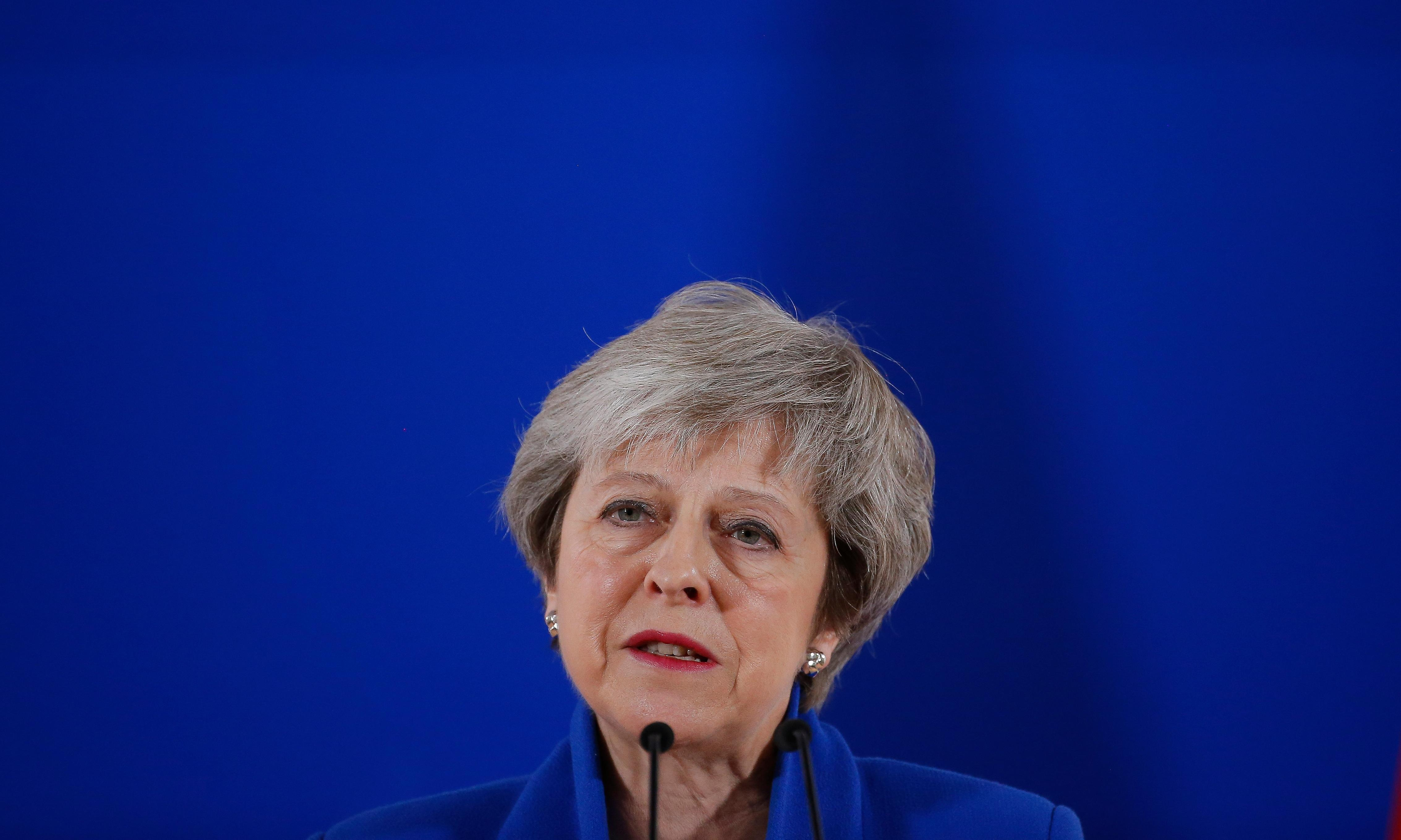 Theresa May never had a grip on the crown that fell into her lap