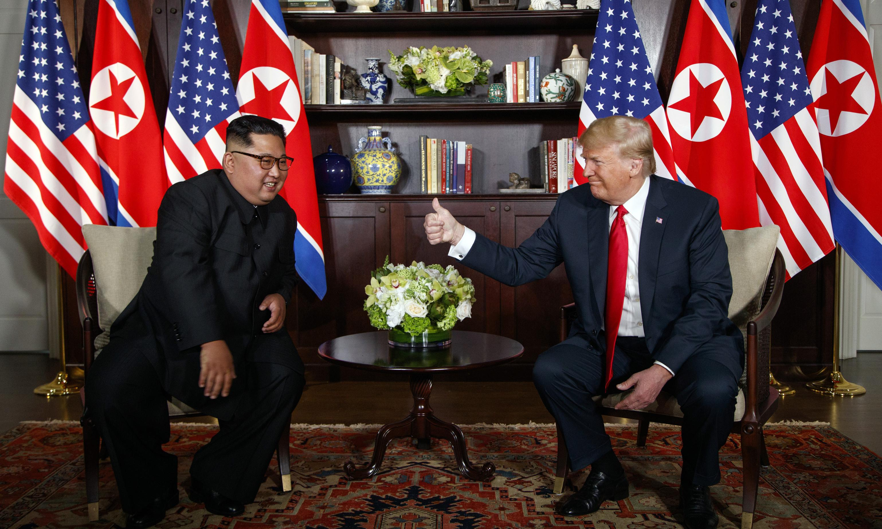 North Korea must take 'meaningful' steps to earn sanctions relief, says Trump