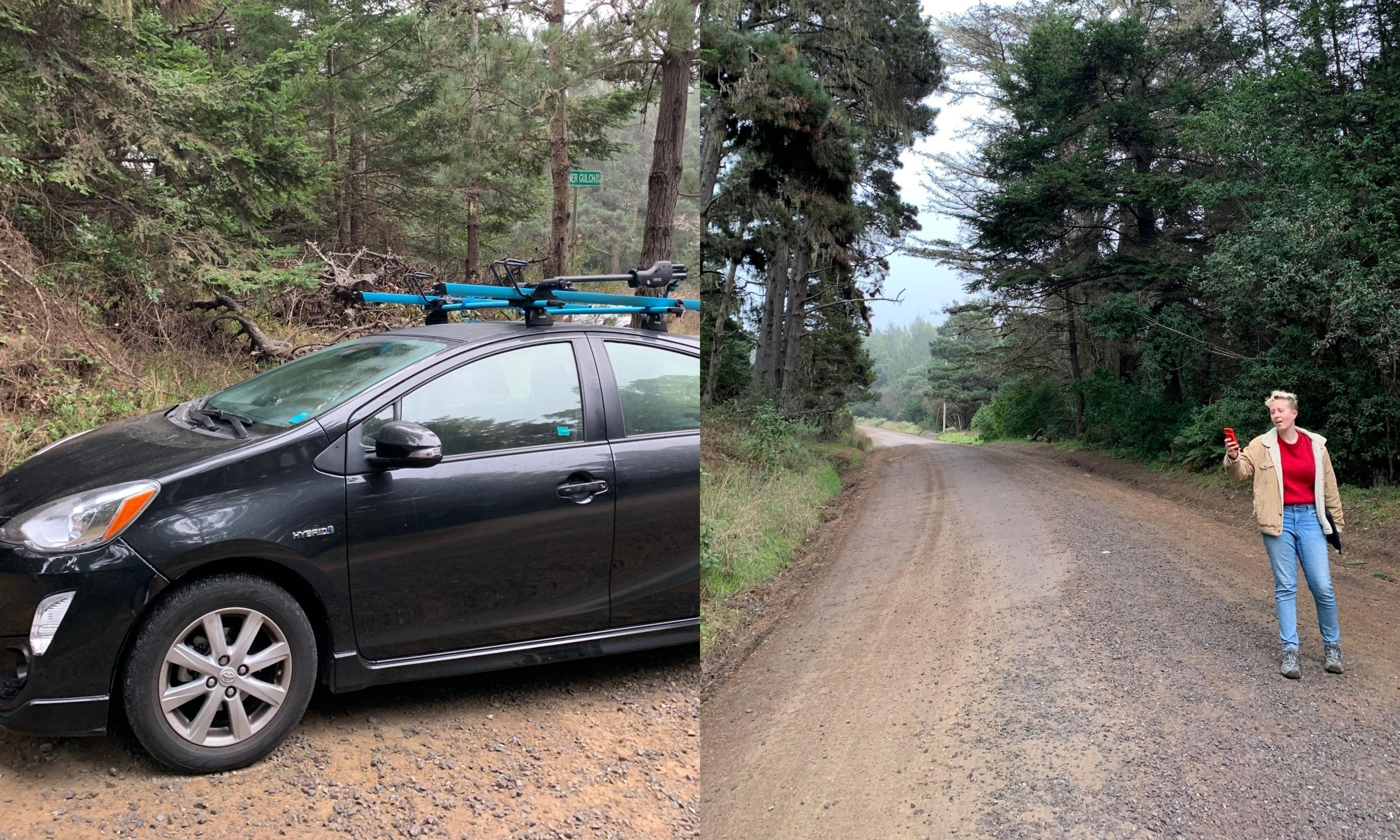 My smart car rental was a breeze – until I got trapped in the woods