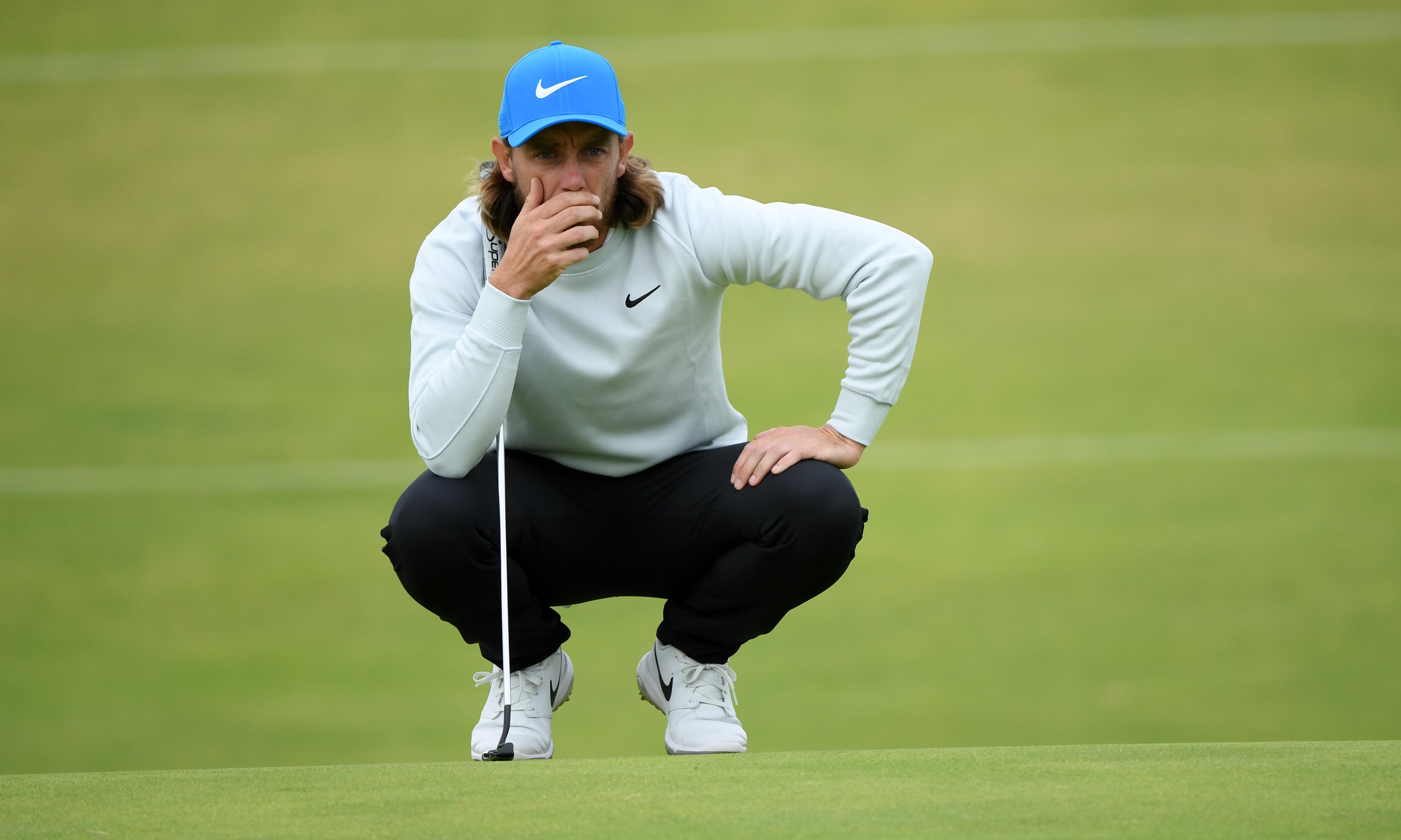 Tommy Fleetwood prepares to battle Shane Lowry in shootout in the storm