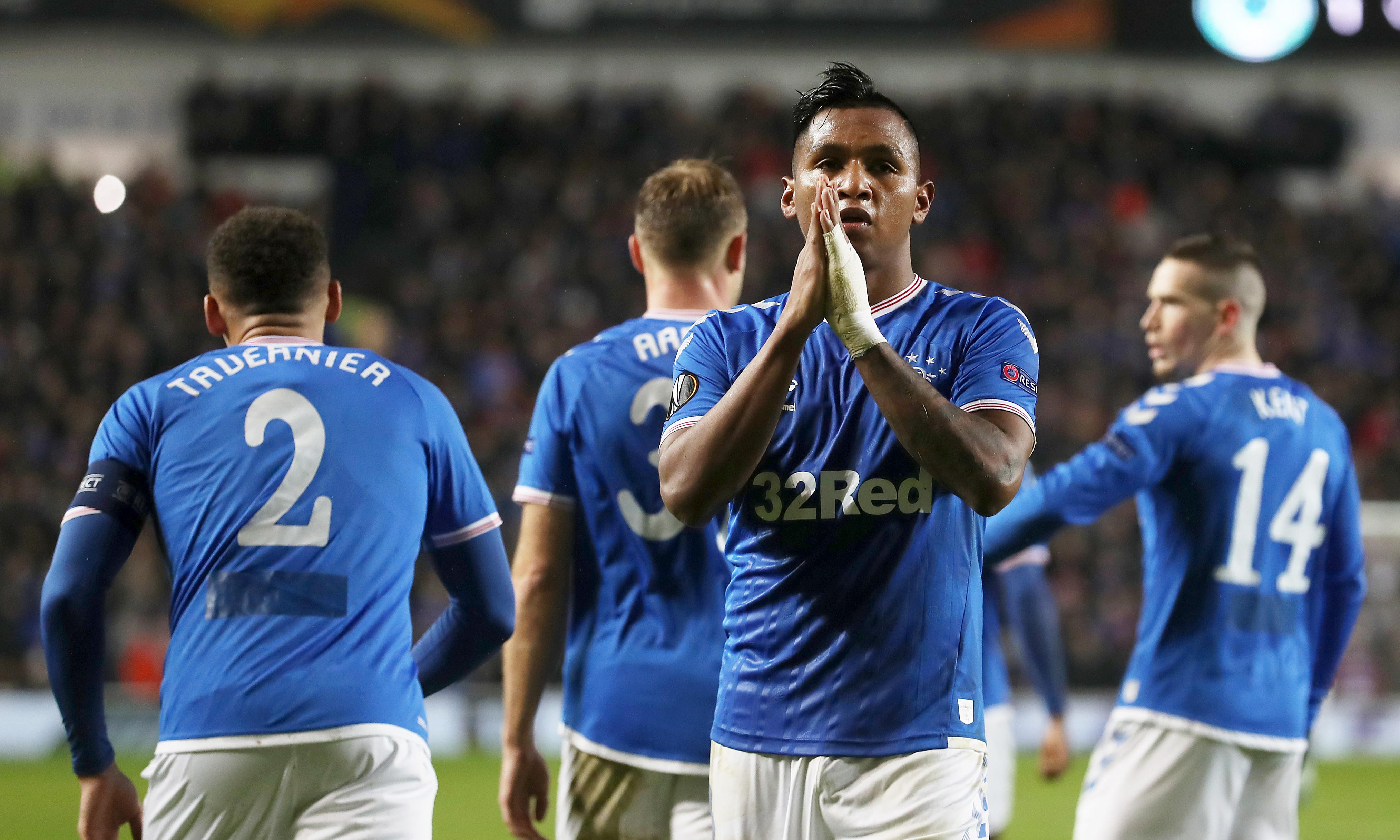 Gerrard praises 'magnificent' effort as Rangers seal Europa progress with draw